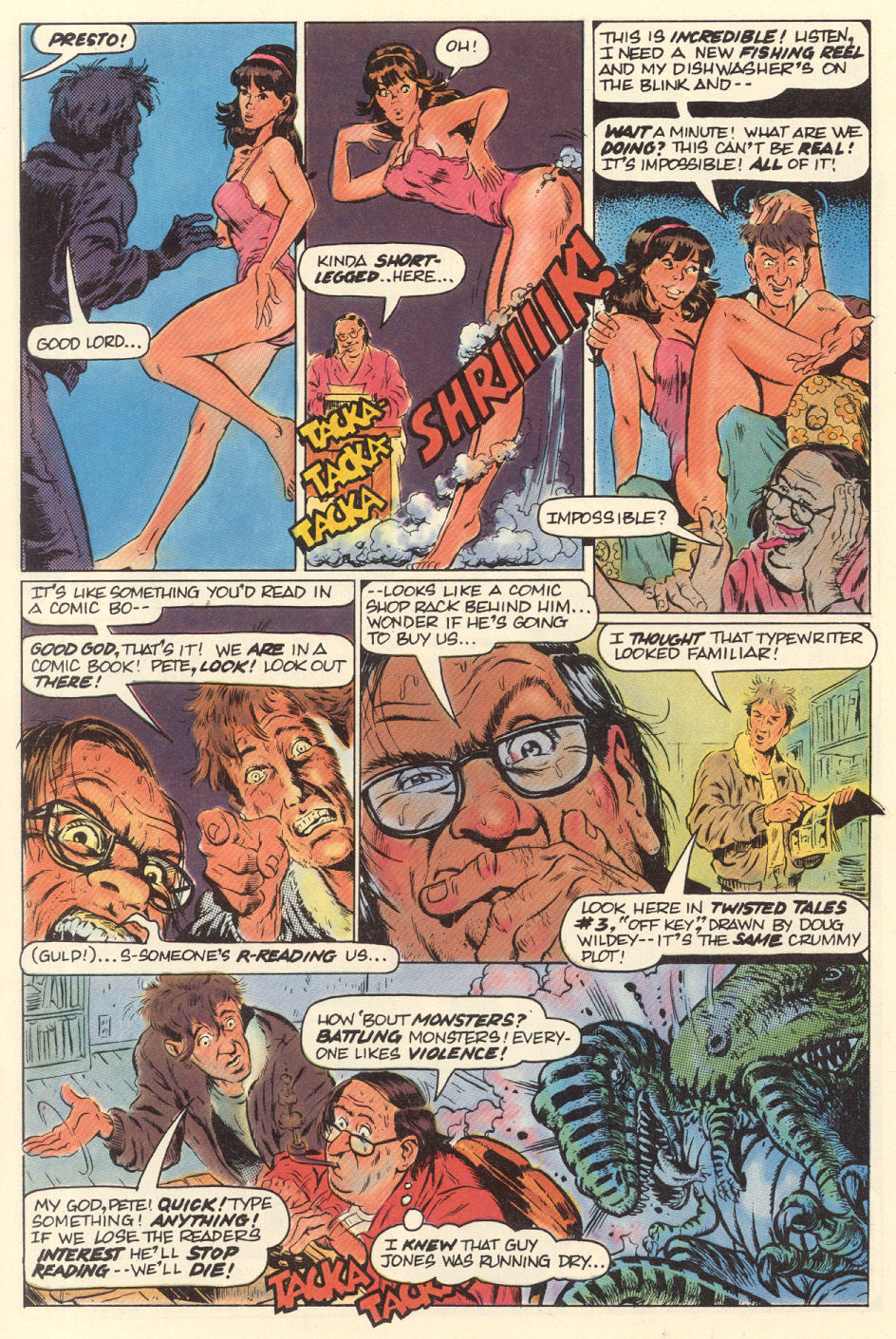 Read online Twisted Tales (1982) comic -  Issue #9 - 7
