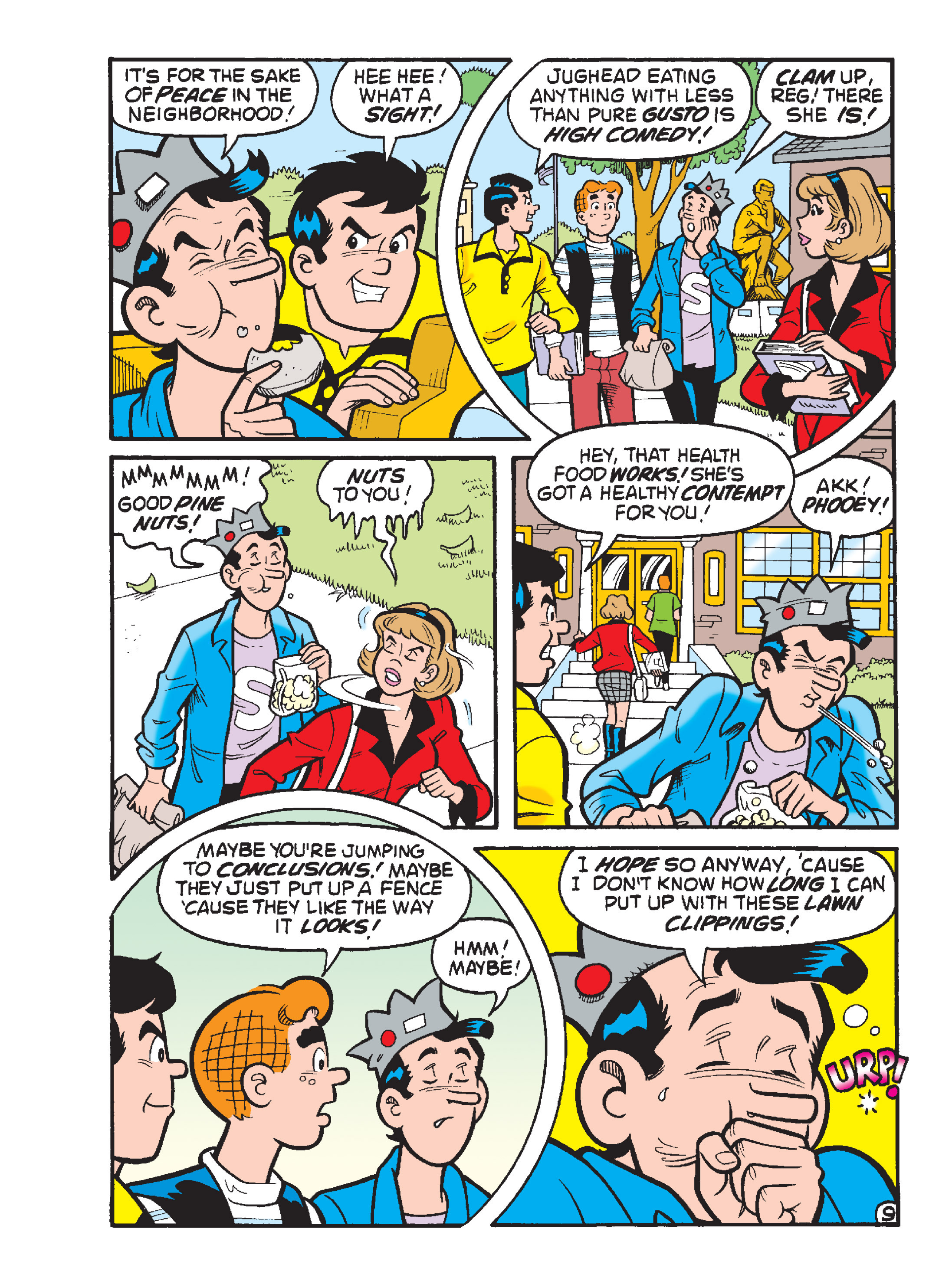 Read online Archie 1000 Page Comics Blowout! comic -  Issue # TPB (Part 2) - 244