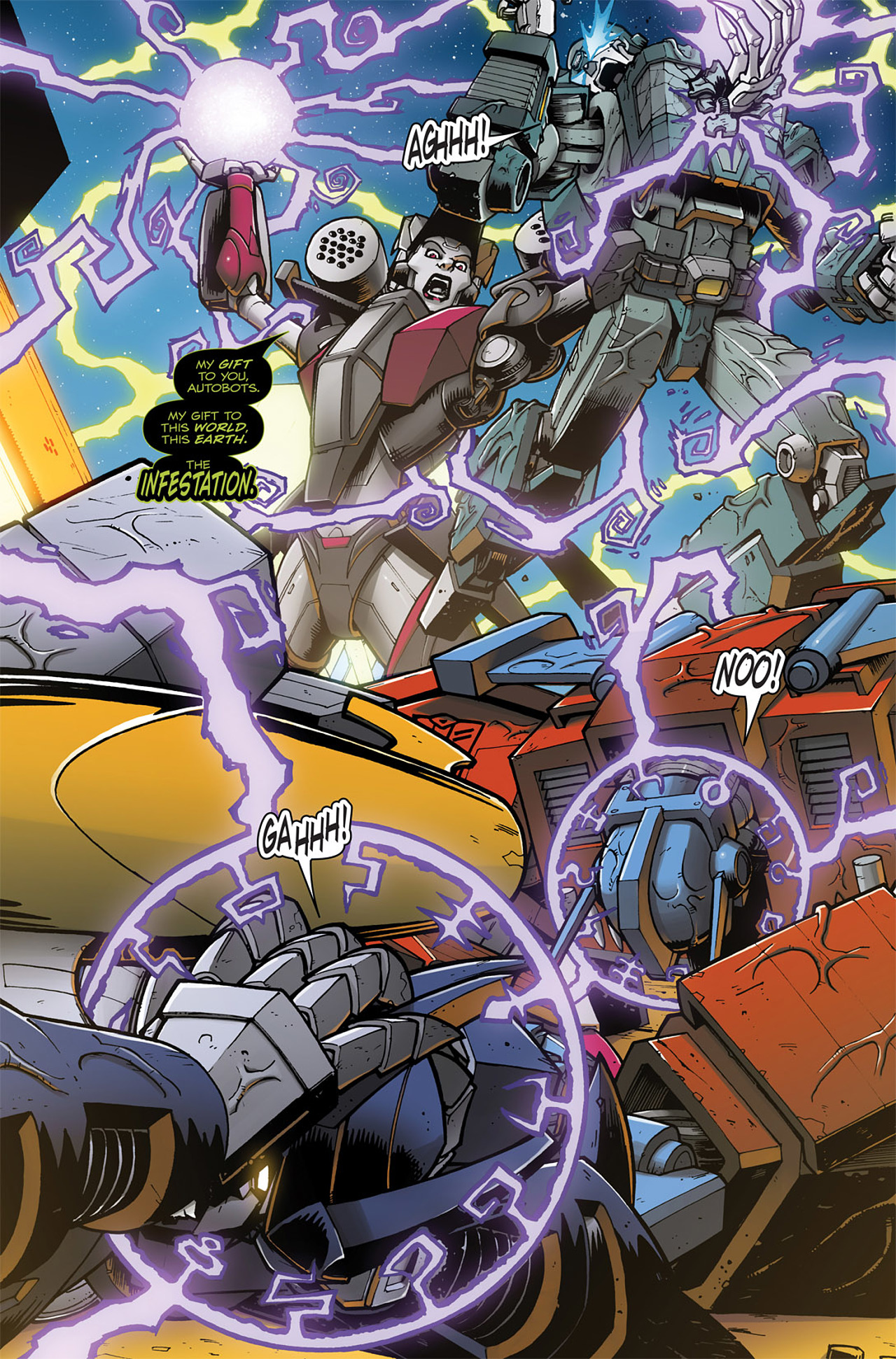 Read online Transformers: Infestation comic -  Issue #2 - 5