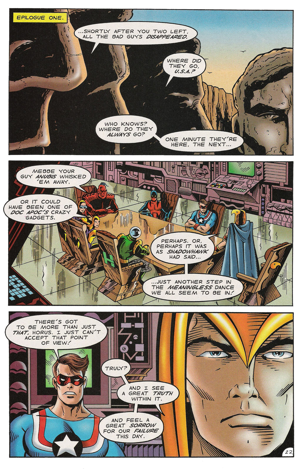 Read online ShadowHawk comic -  Issue #14 - 26