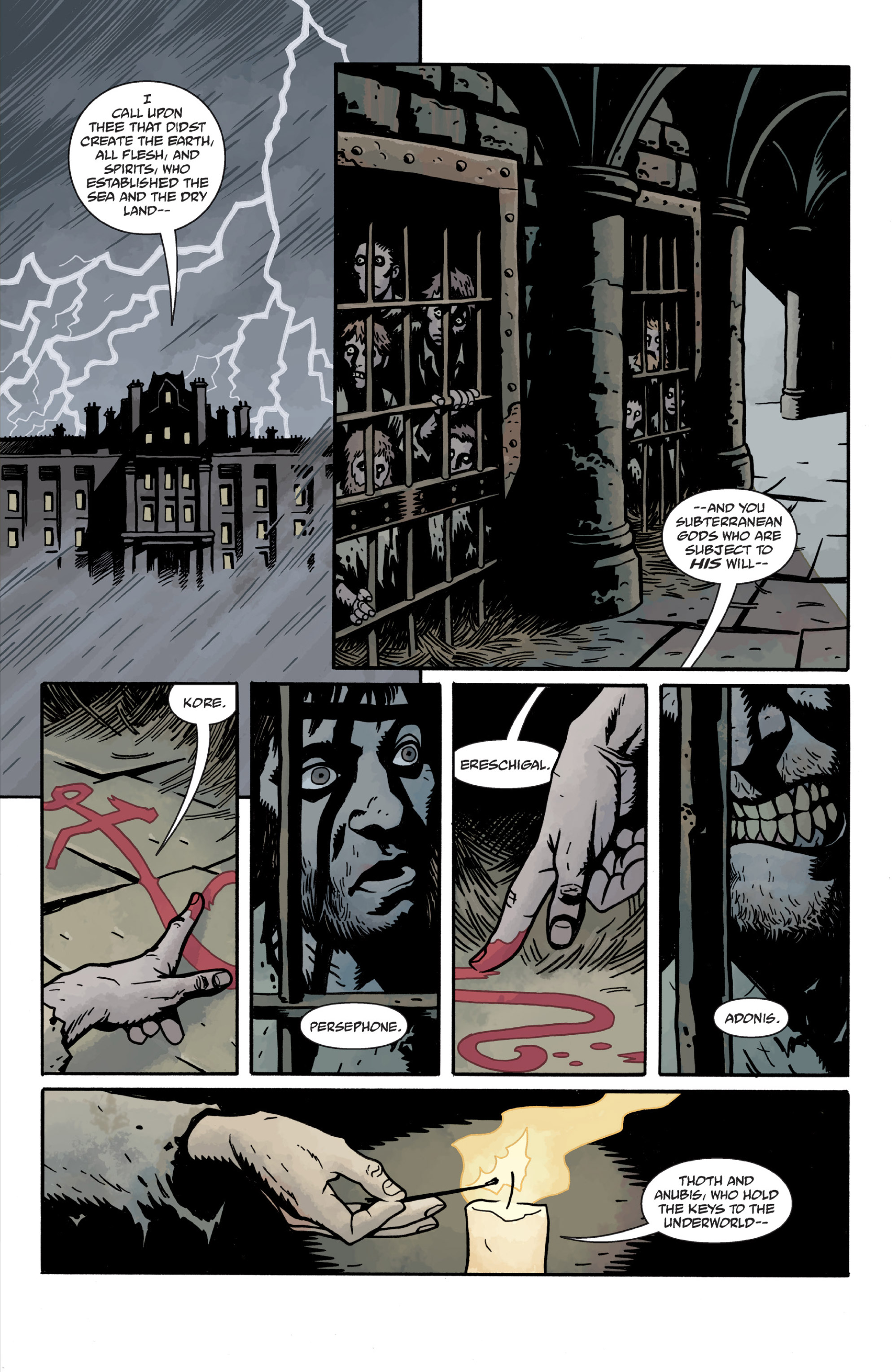 Read online Sir Edward Grey, Witchfinder: In the Service of Angels comic -  Issue # TPB - 104