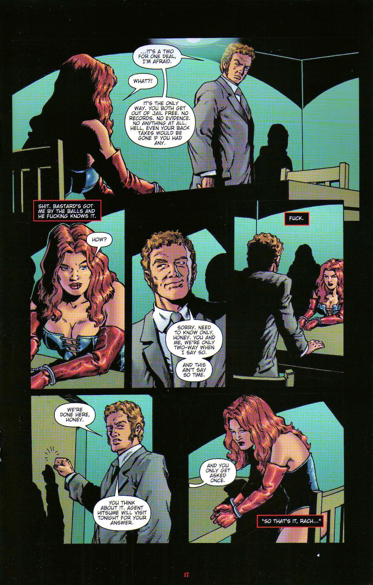 Read online Dominatrix comic -  Issue #6 - 19