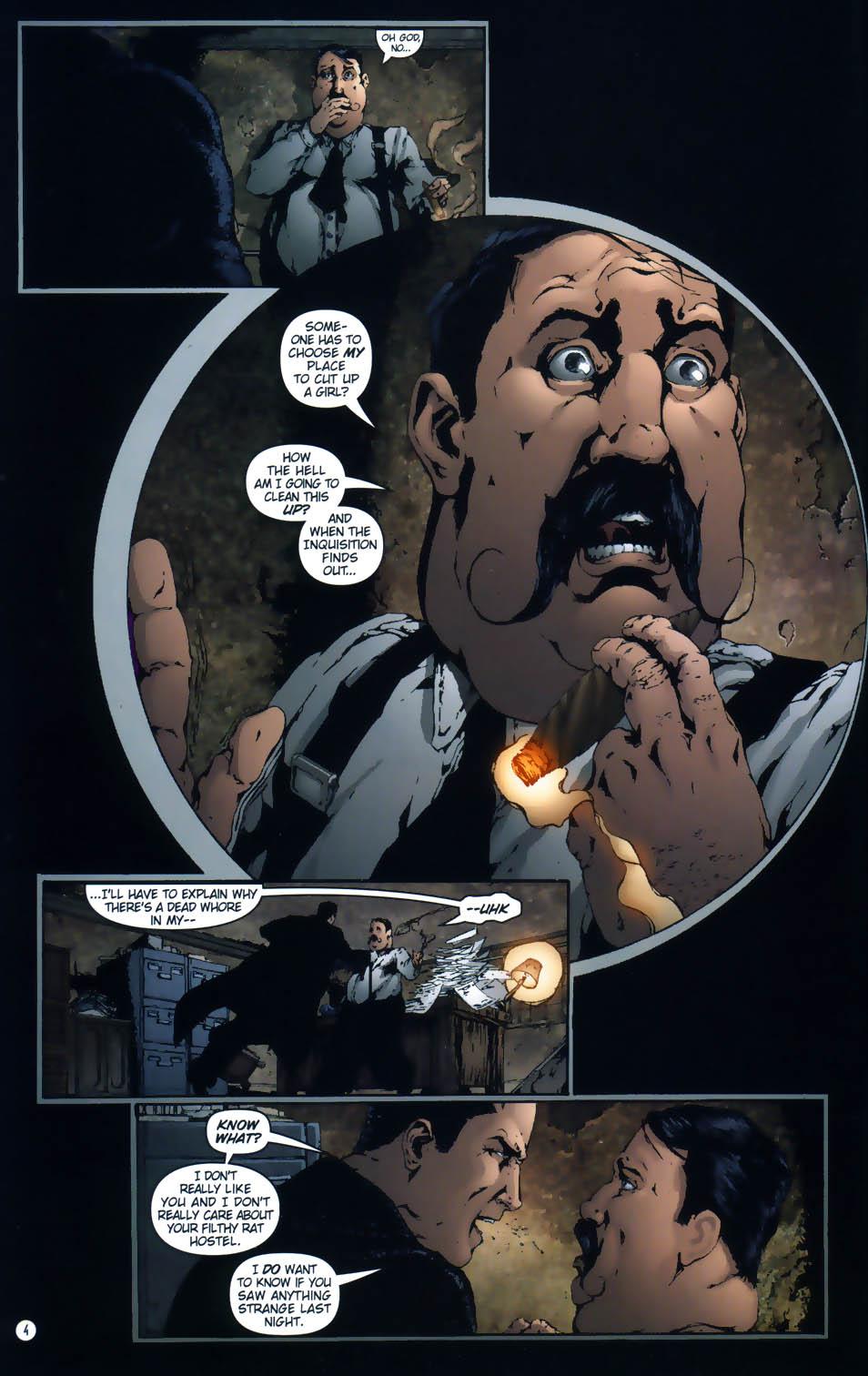Read online Rex Mundi comic -  Issue #1 - 6