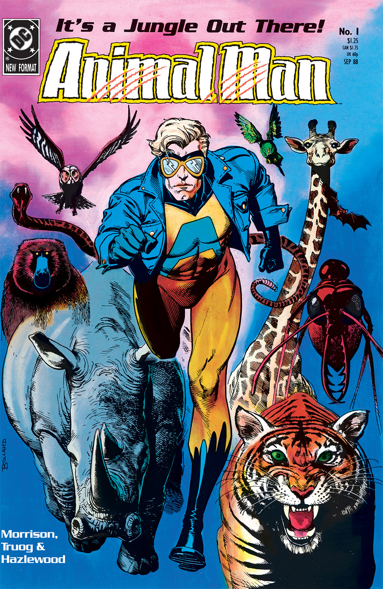 Animal Man issue 1 - Page 1