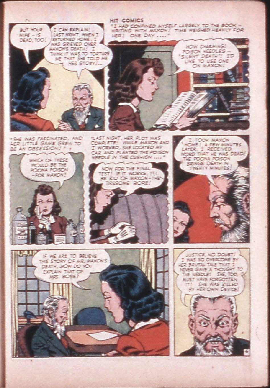 Read online Hit Comics comic -  Issue #33 - 34