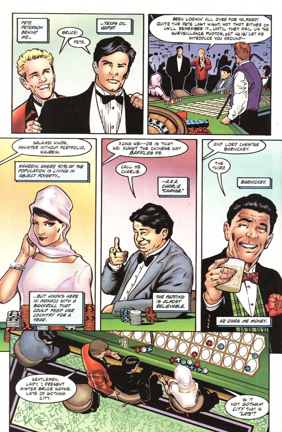 Read online Batman: No Man's Land comic -  Issue #0 - 10