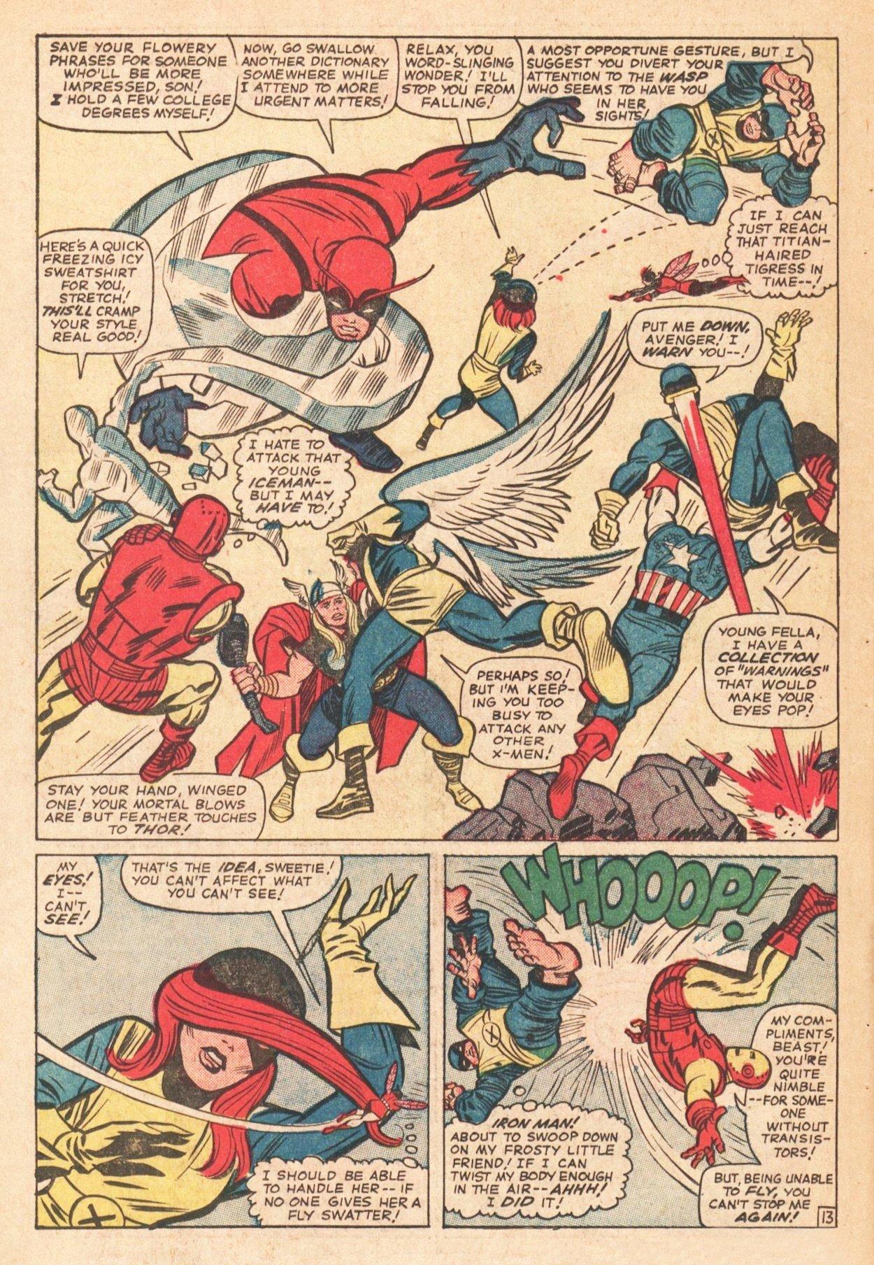 Read online Uncanny X-Men (1963) comic -  Issue # _Annual 1 - 16