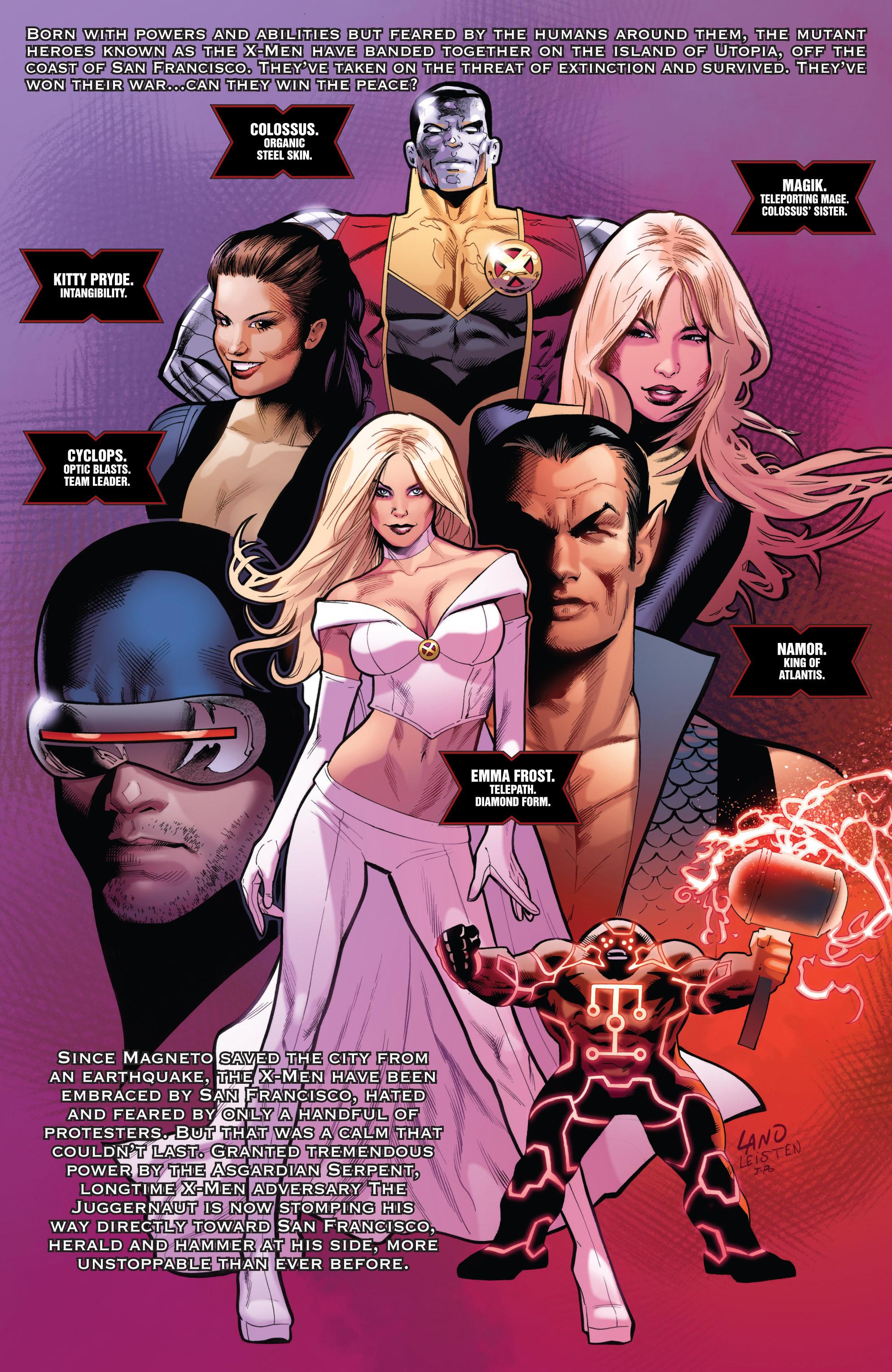 Read online Uncanny X-Men (1963) comic -  Issue #541 - 2