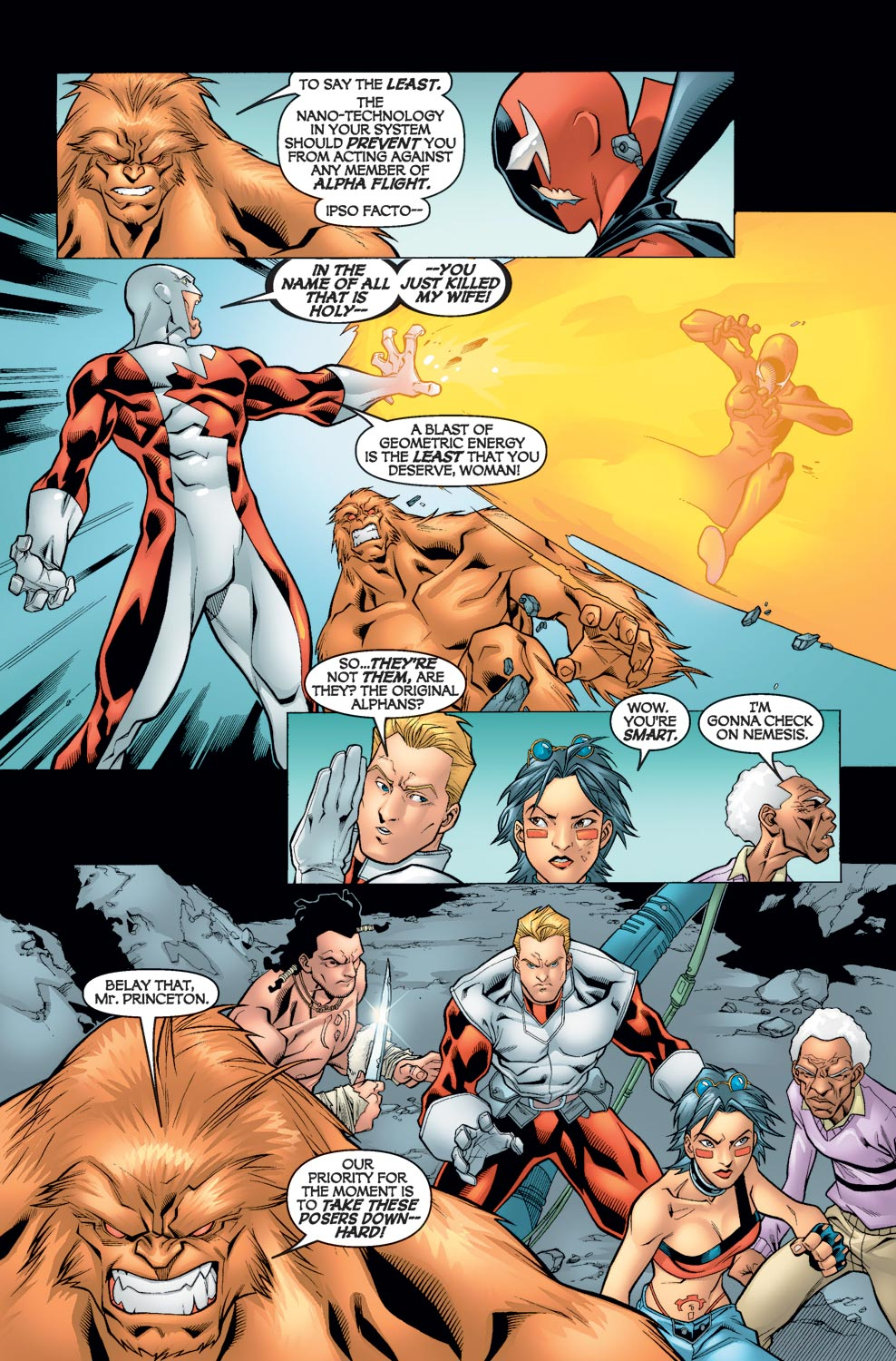 Alpha Flight (2004) issue 5 - Page 12