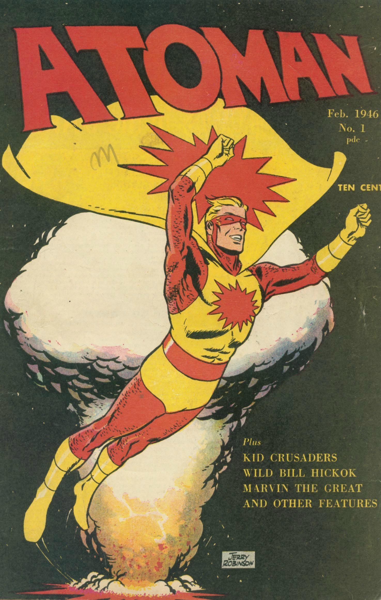 Atoman Comics 1 Page 1