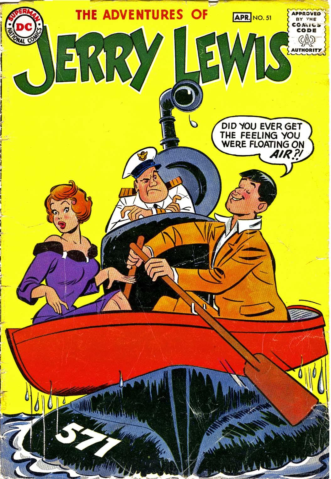 The Adventures of Jerry Lewis 51 Page 1