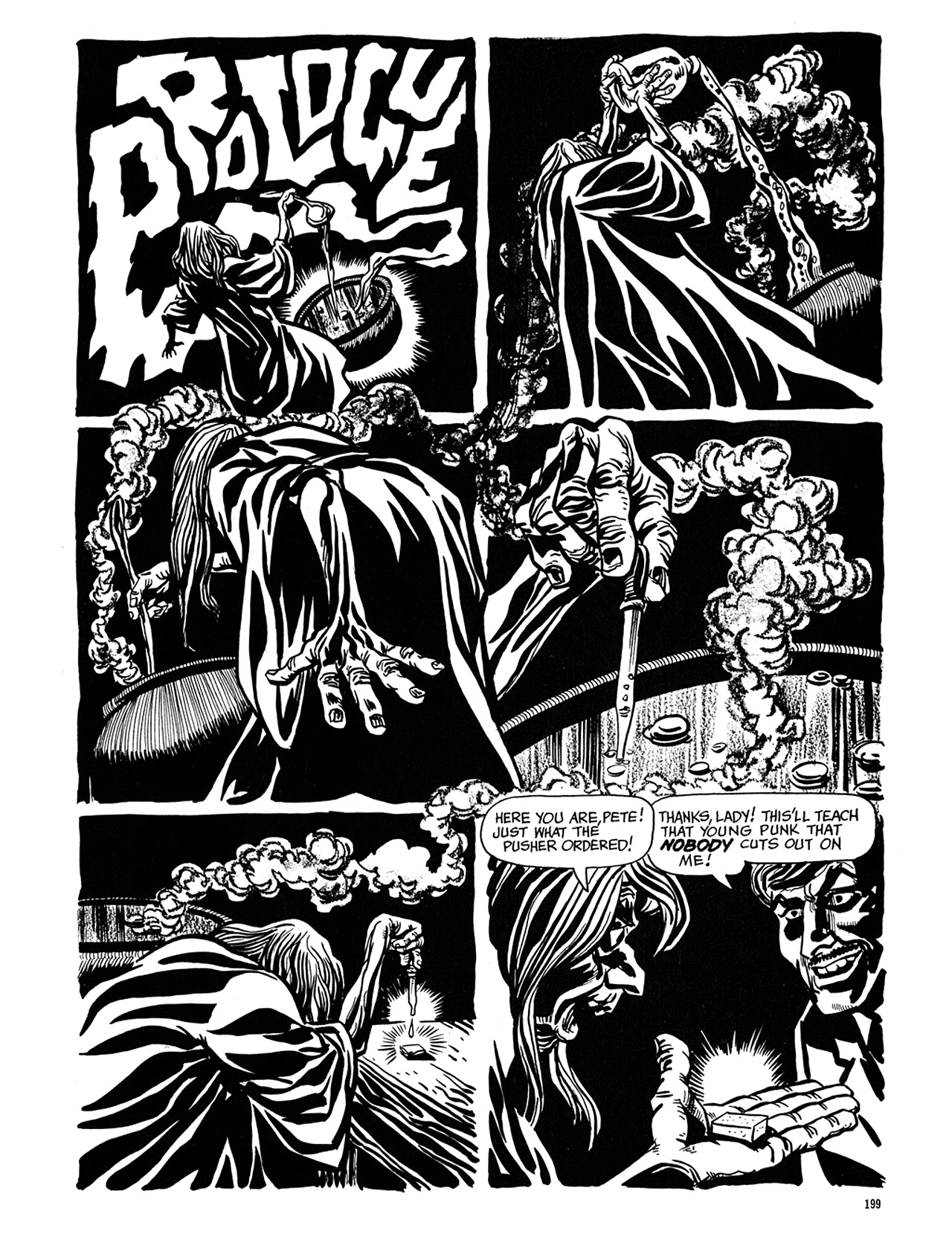 Read online Eerie Archives comic -  Issue # TPB 6 - 199