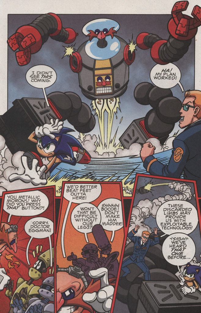Read online Sonic X comic -  Issue #22 - 5