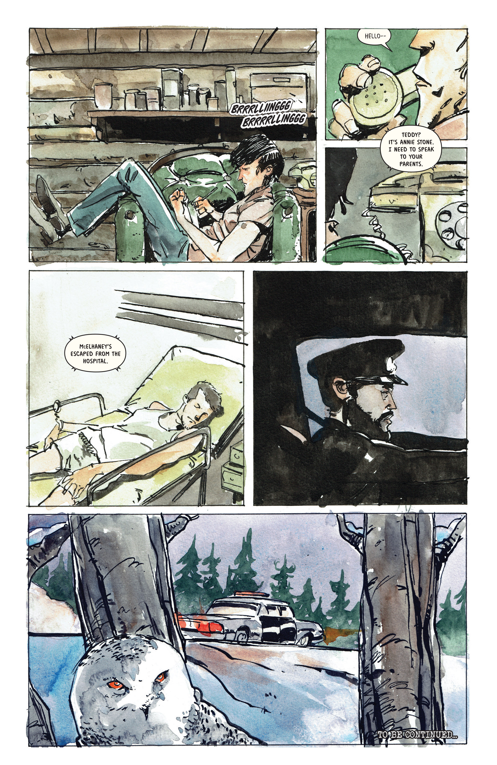 Read online Snow Blind comic -  Issue #3 - 24