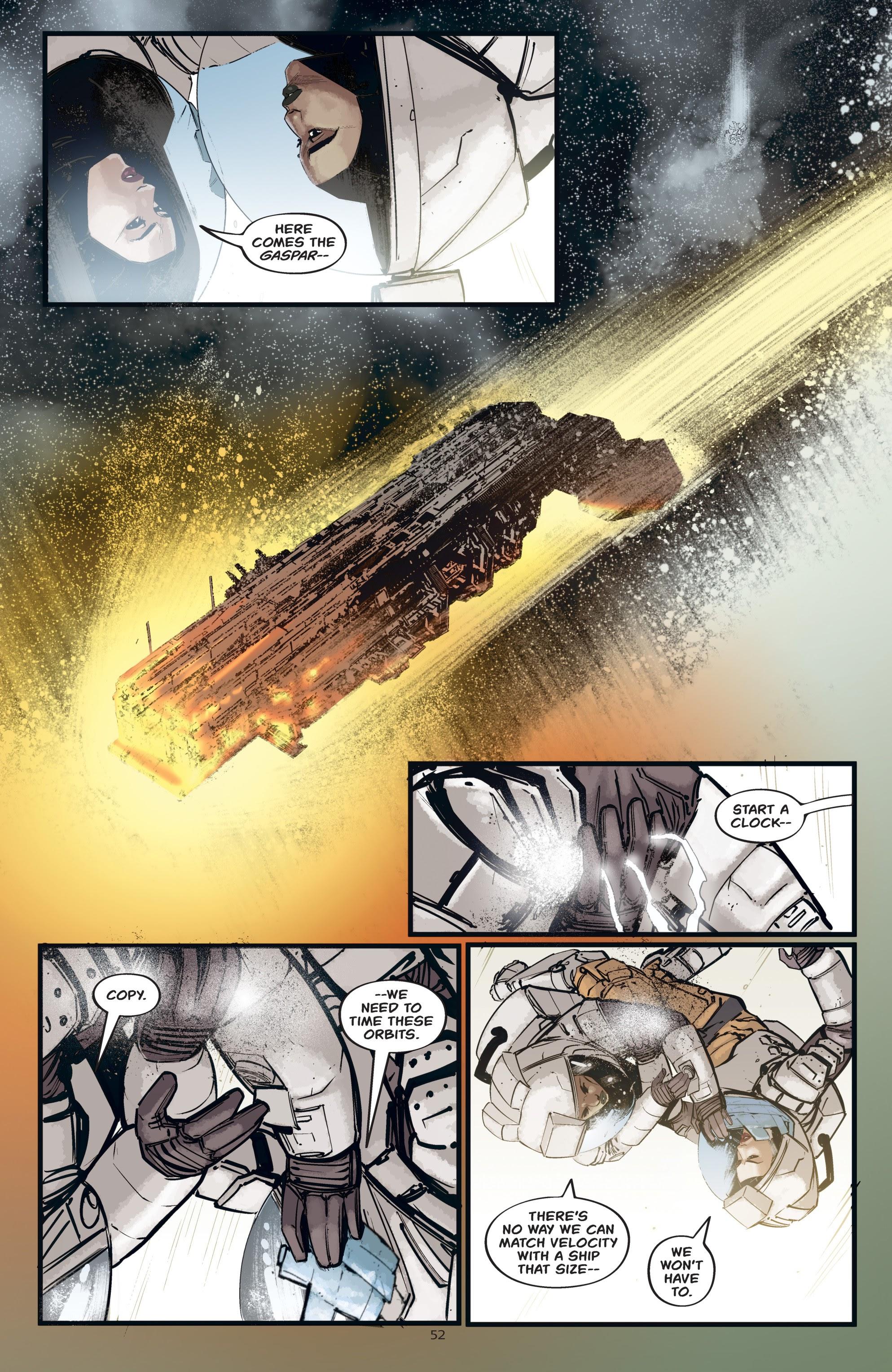 Read online Aliens: Resistance comic -  Issue # _TPB - 52