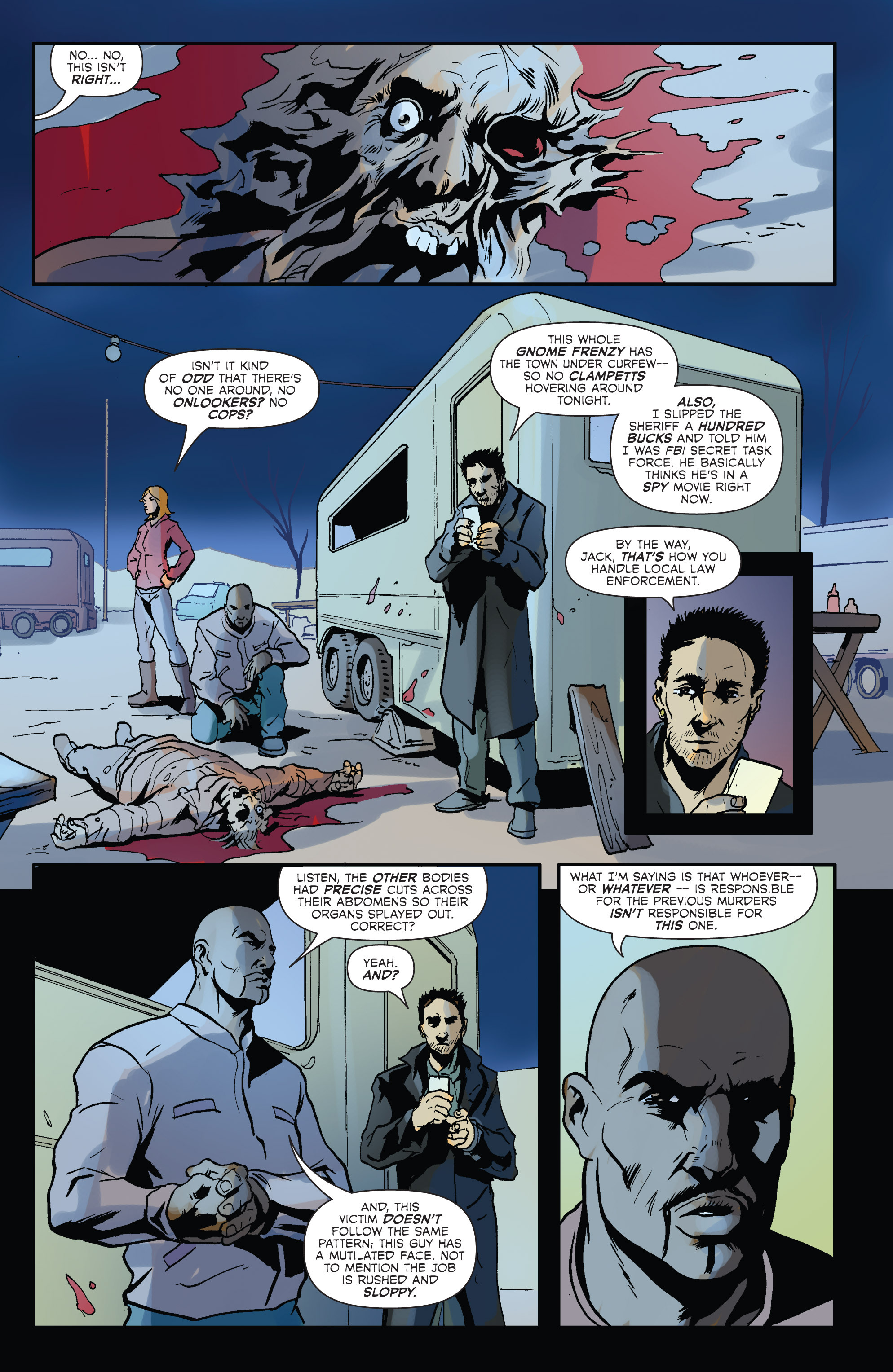 Read online Hoax Hunters (2012) comic -  Issue # TPB 2 - 34