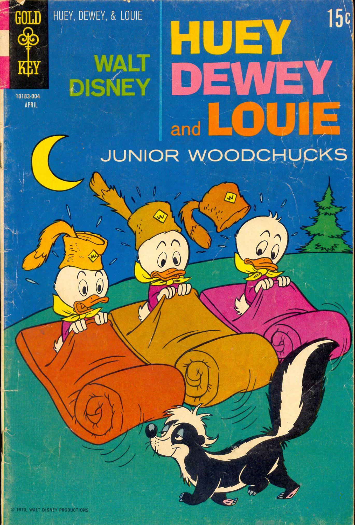 Huey, Dewey, and Louie Junior Woodchucks 5 Page 1