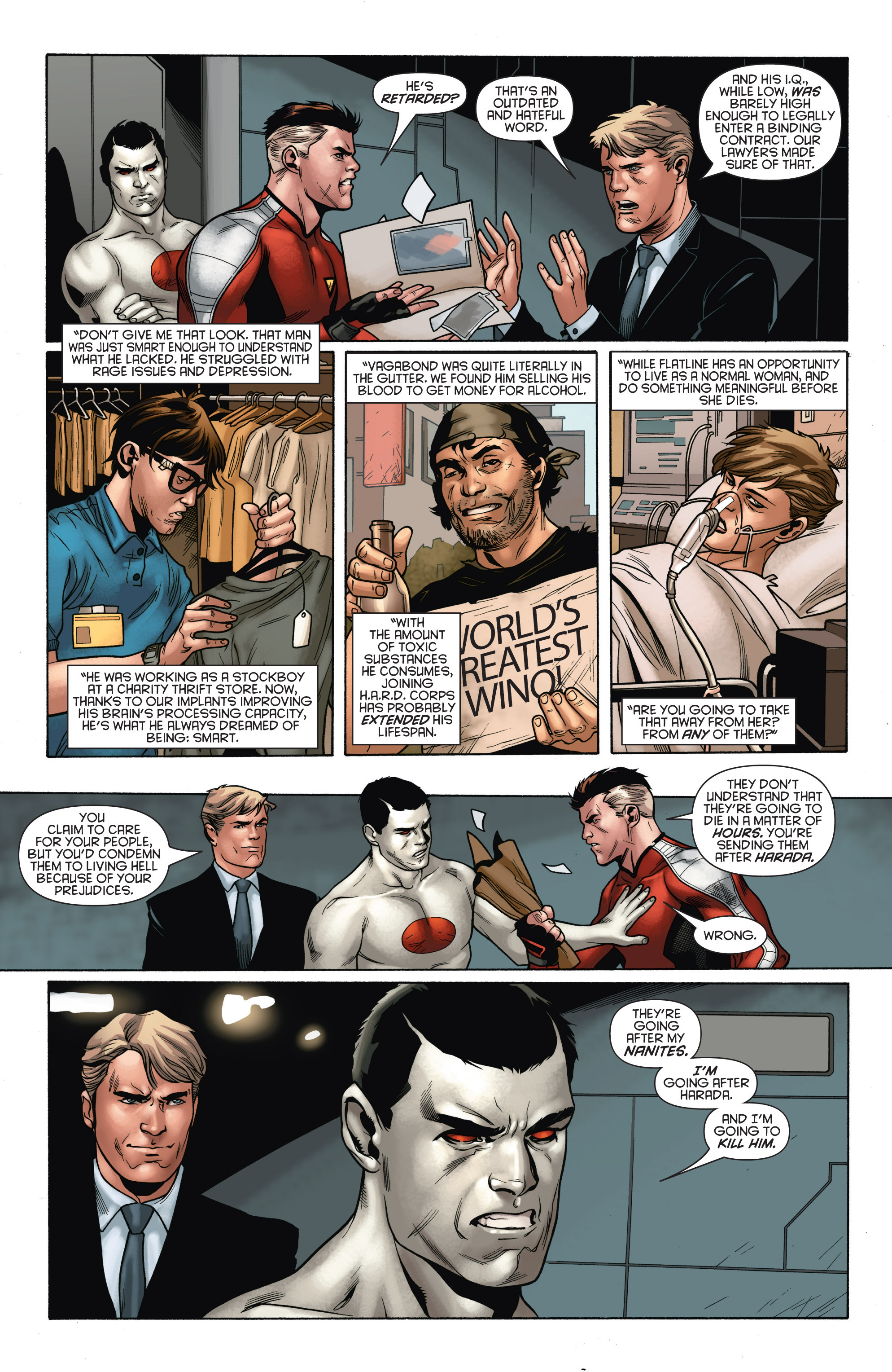 Read online Bloodshot and H.A.R.D.Corps comic -  Issue # TPB 4 - 57