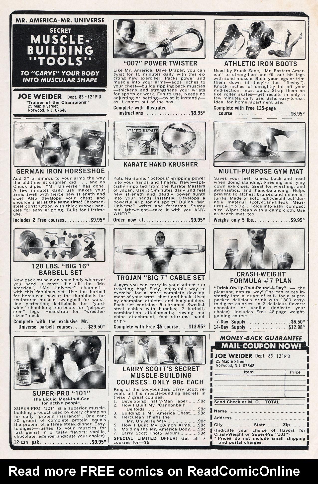 Read online Amazing Adventures (1970) comic -  Issue #10 - 35
