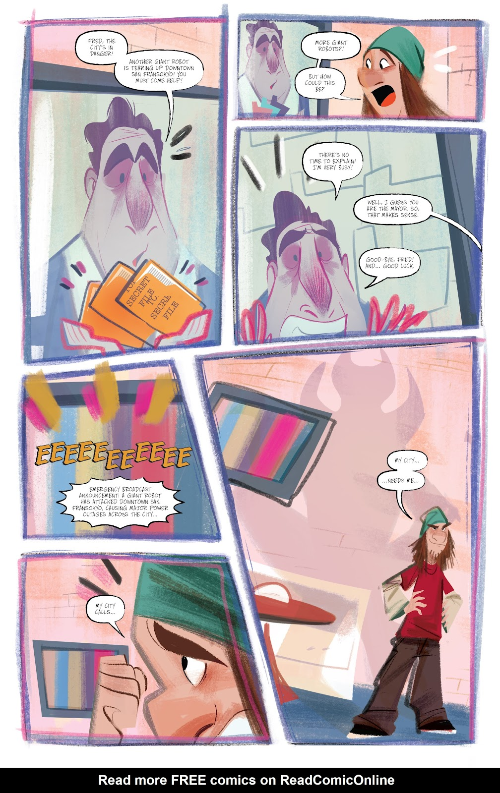 Read online Big Hero 6: The Series comic -  Issue #1 - 7