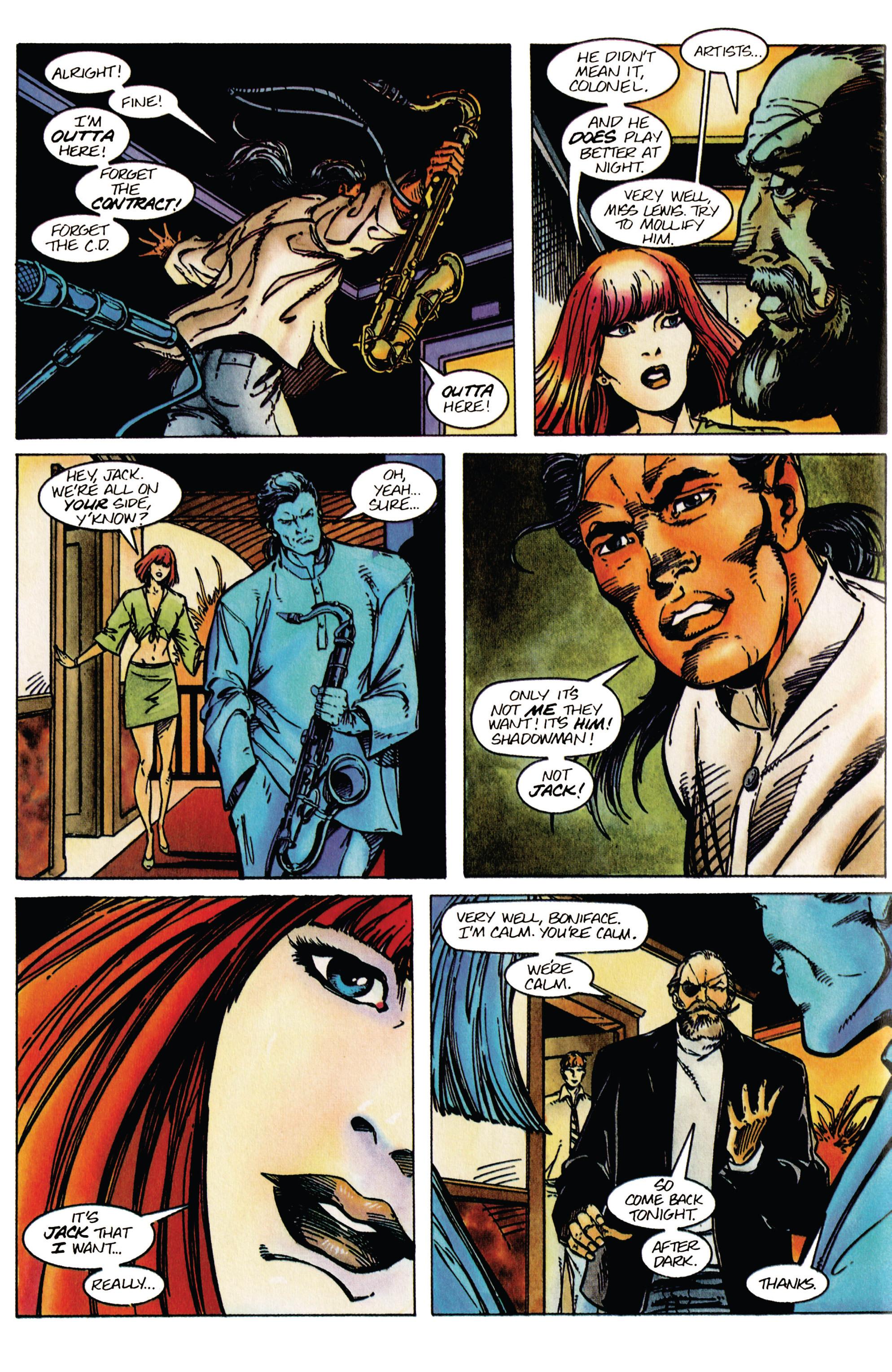 Read online Shadowman (1992) comic -  Issue #41 - 8