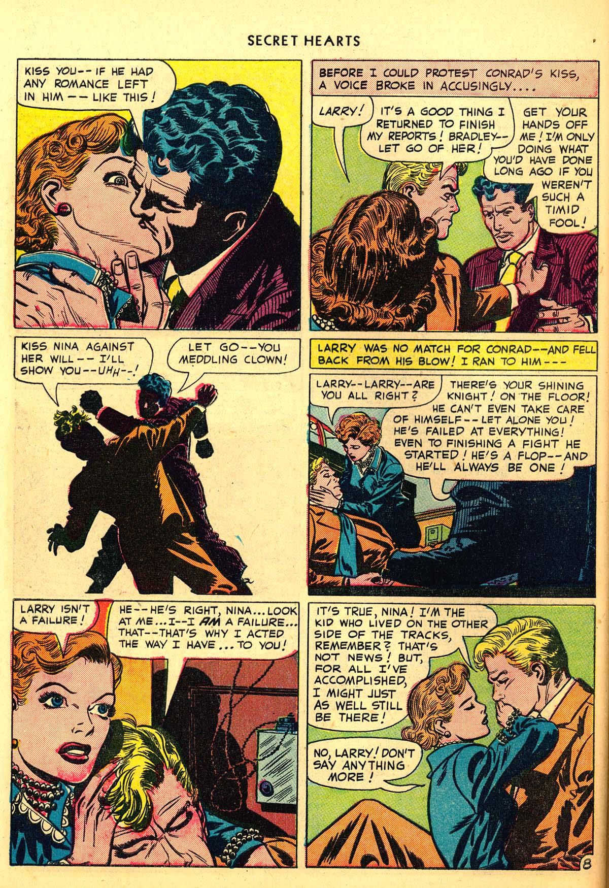 Read online Secret Hearts comic -  Issue #6 - 48
