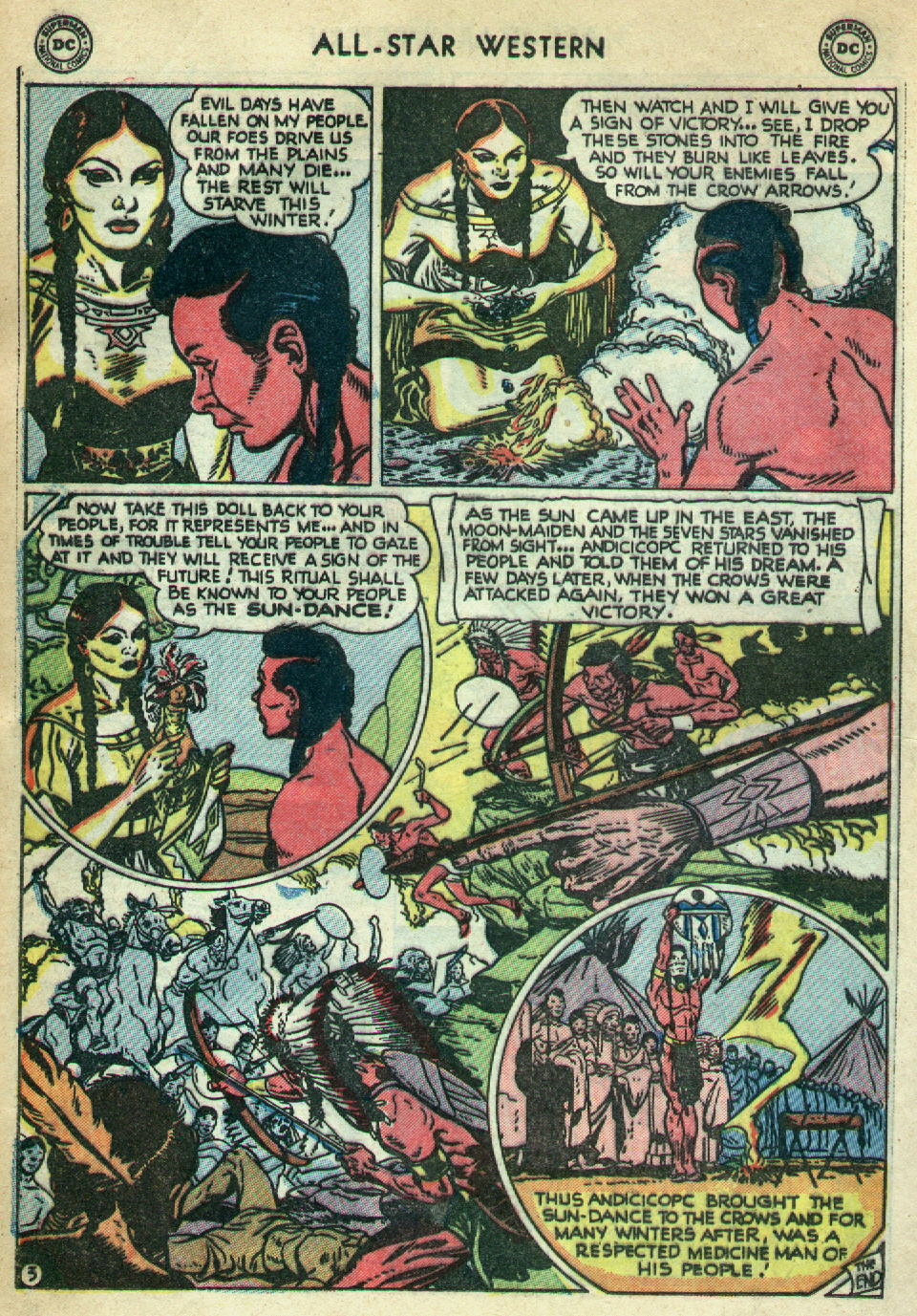 Read online All-Star Western (1951) comic -  Issue #79 - 20
