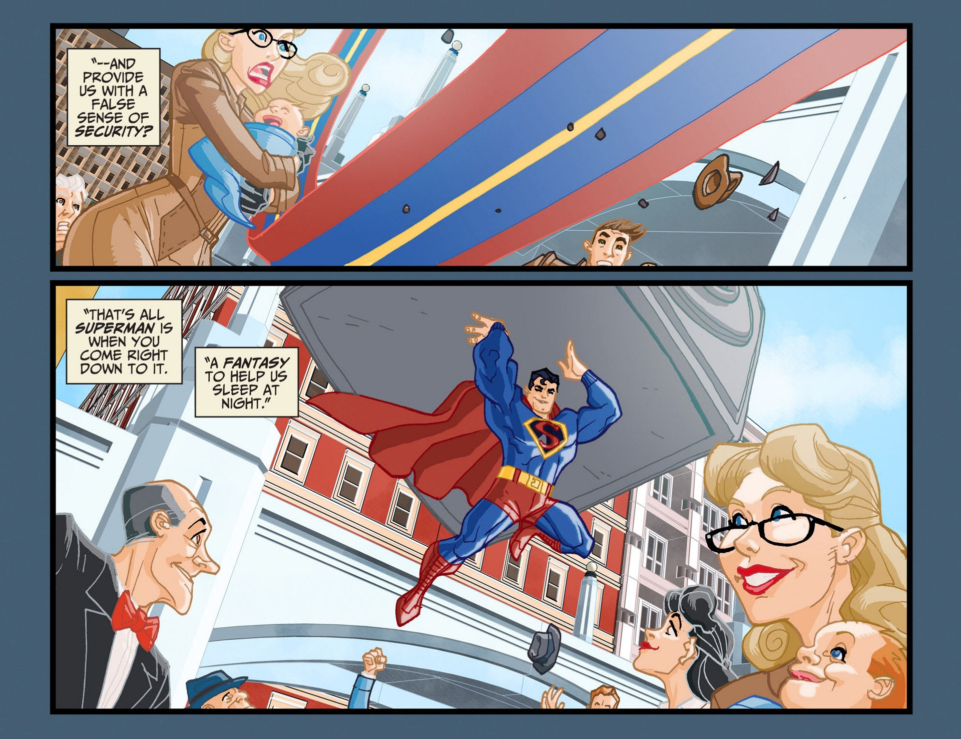 Read online Adventures of Superman [I] comic -  Issue #11 - 15