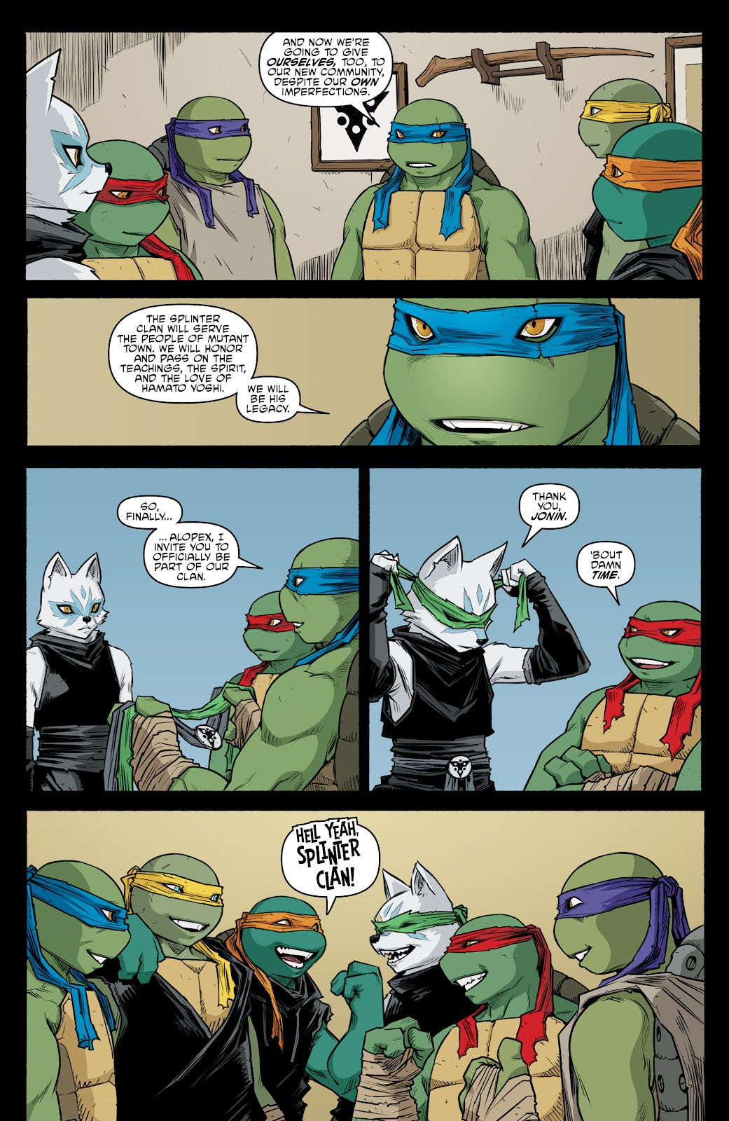Read online Teenage Mutant Ninja Turtles (2011) comic -  Issue #105 - 11