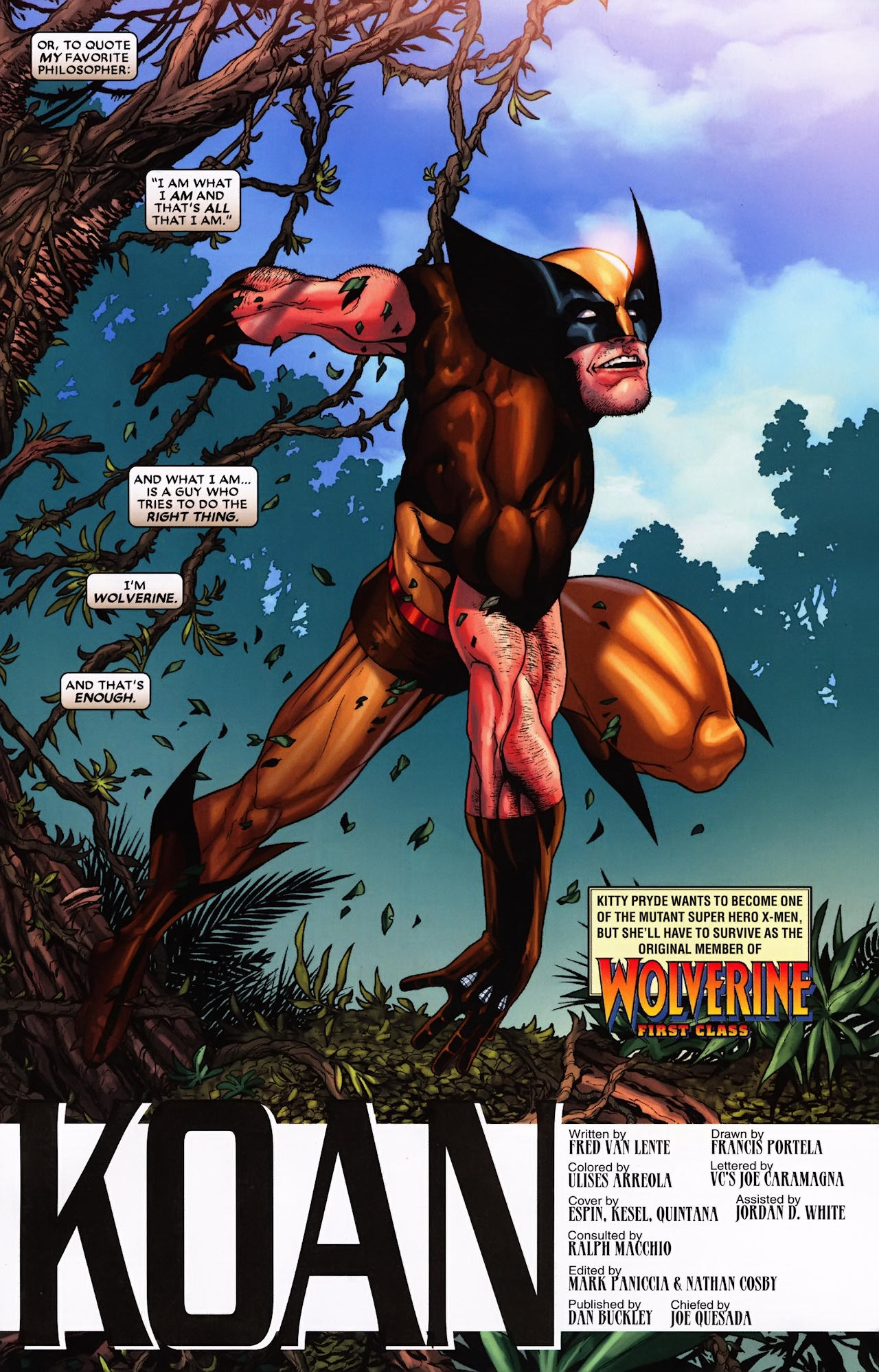 Read online Wolverine: First Class comic -  Issue #9 - 23