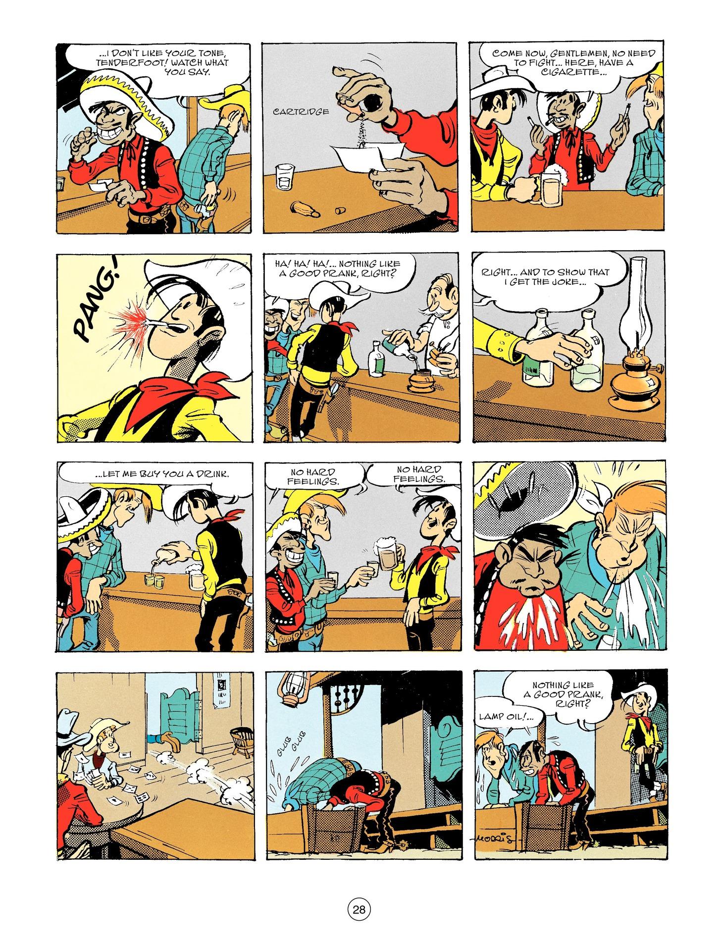Read online A Lucky Luke Adventure comic -  Issue #56 - 28