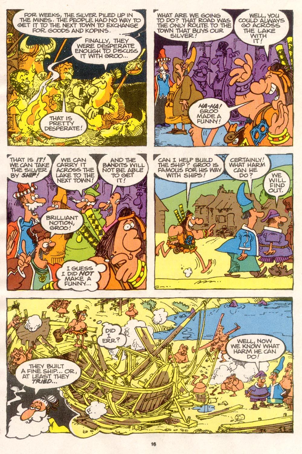 Read online Sergio Aragonés Groo the Wanderer comic -  Issue #76 - 12