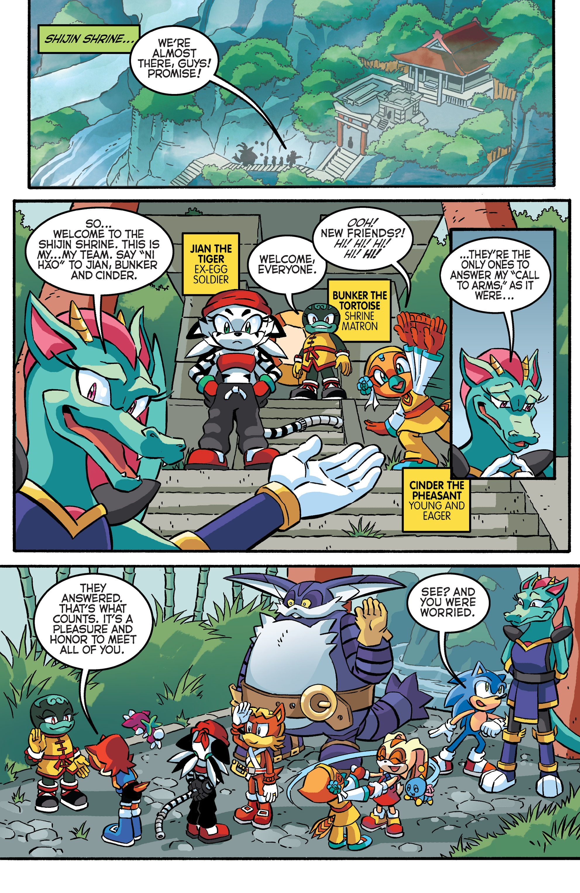 Read online Sonic The Hedgehog comic -  Issue #281 - 7