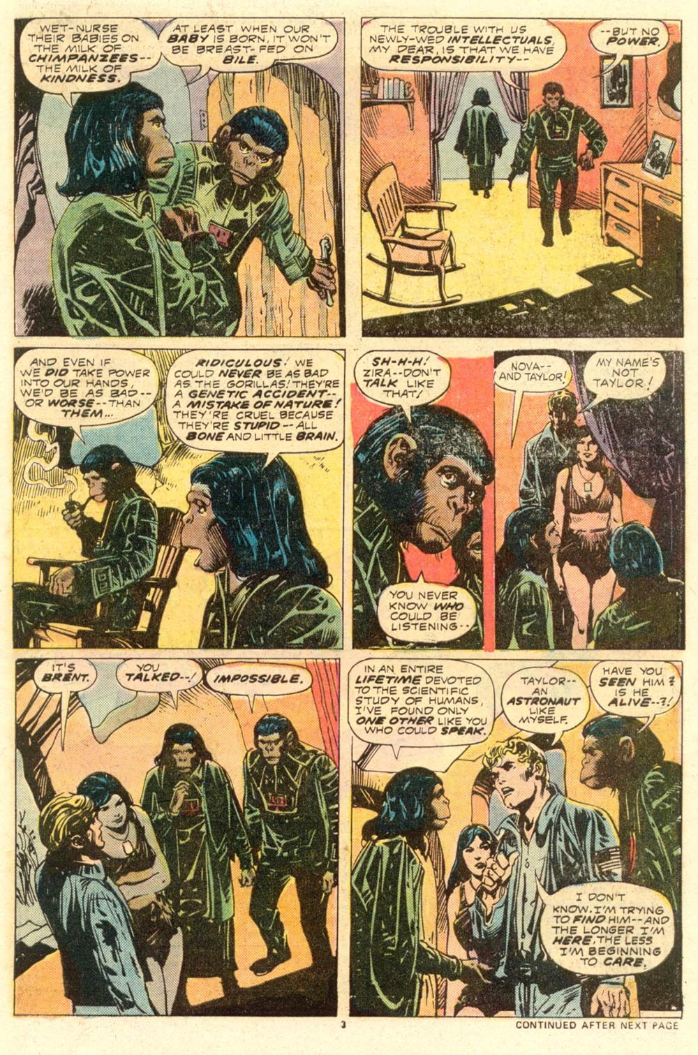 Read online Adventures on the Planet of the Apes comic -  Issue #8 - 4