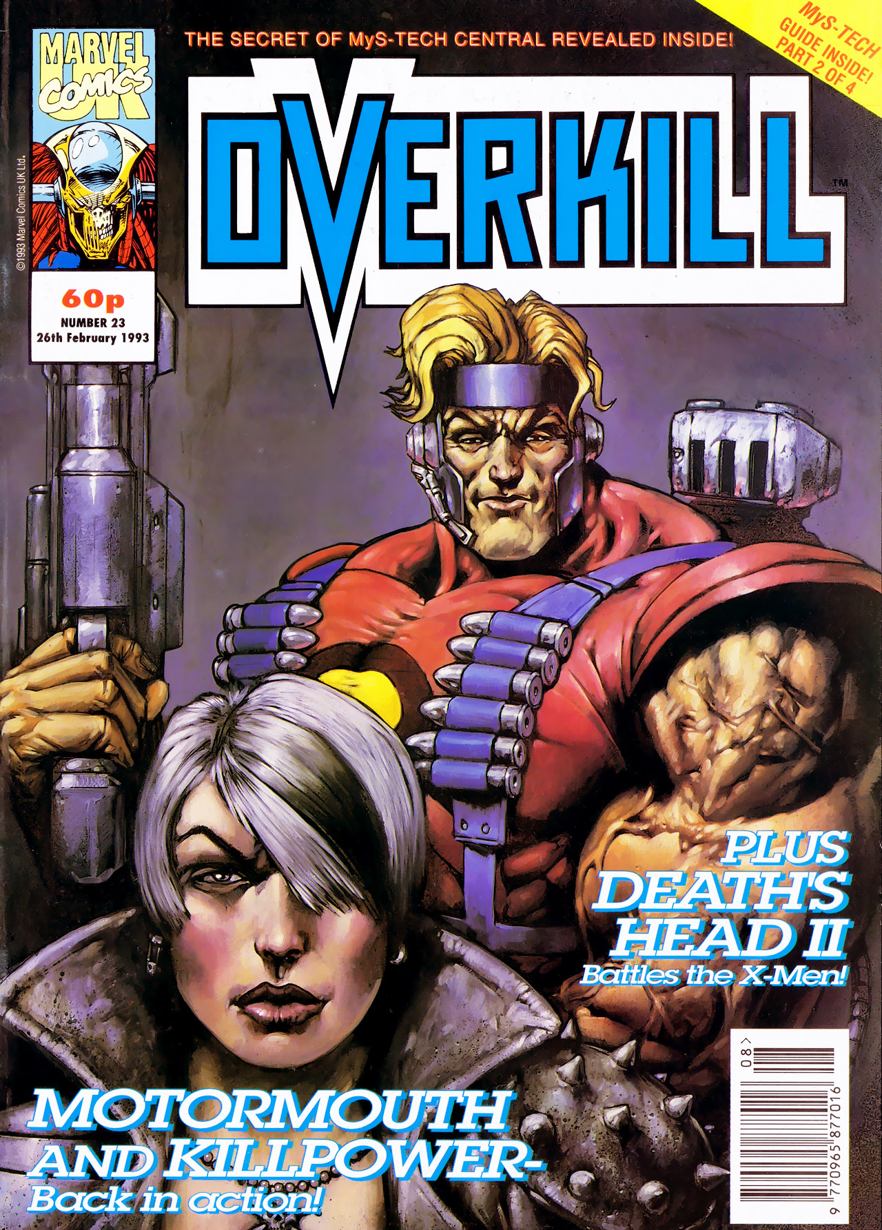 Read online Overkill comic -  Issue #23 - 1