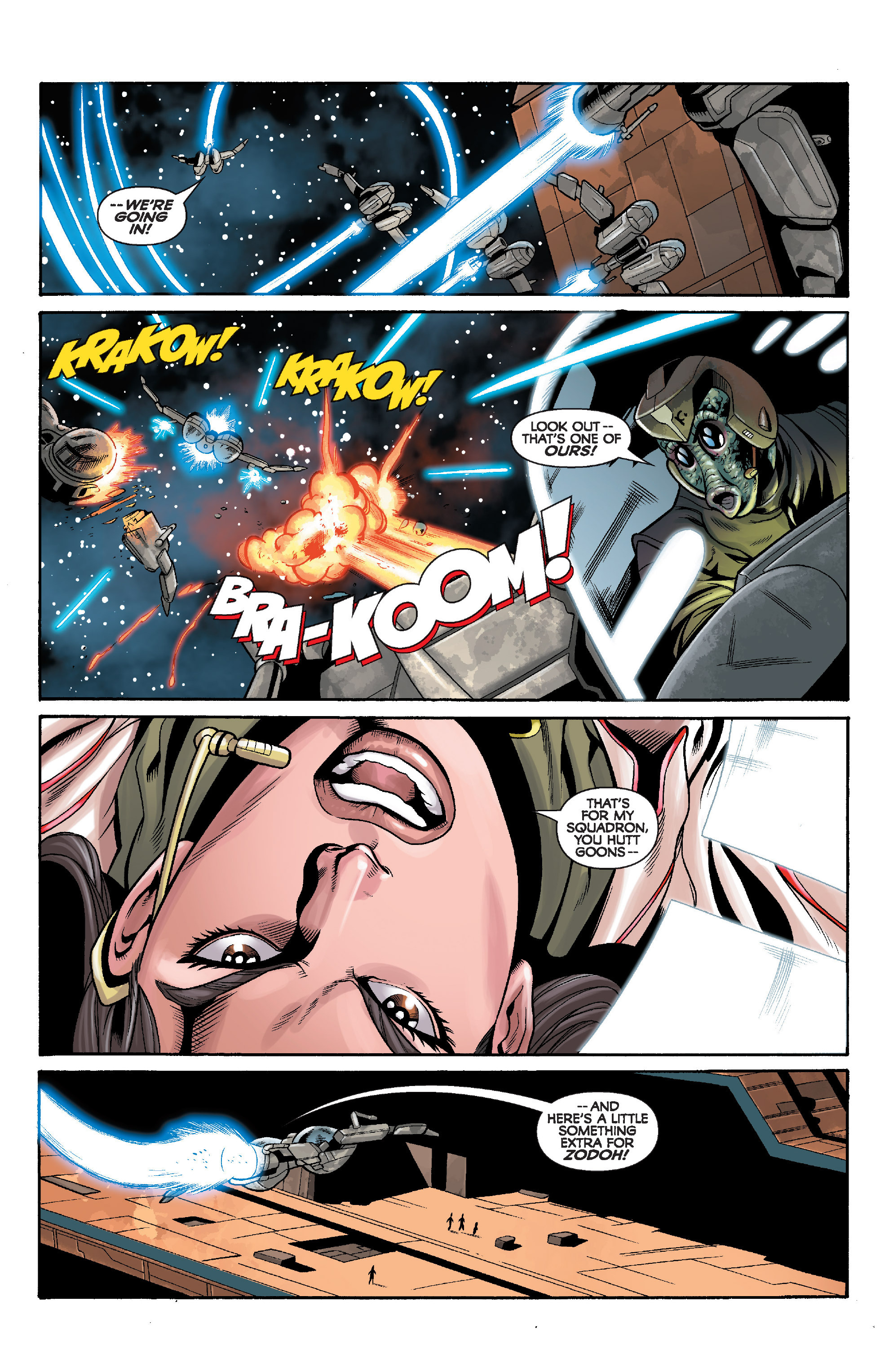 Read online Star Wars: Knight Errant - Deluge comic -  Issue #5 - 8