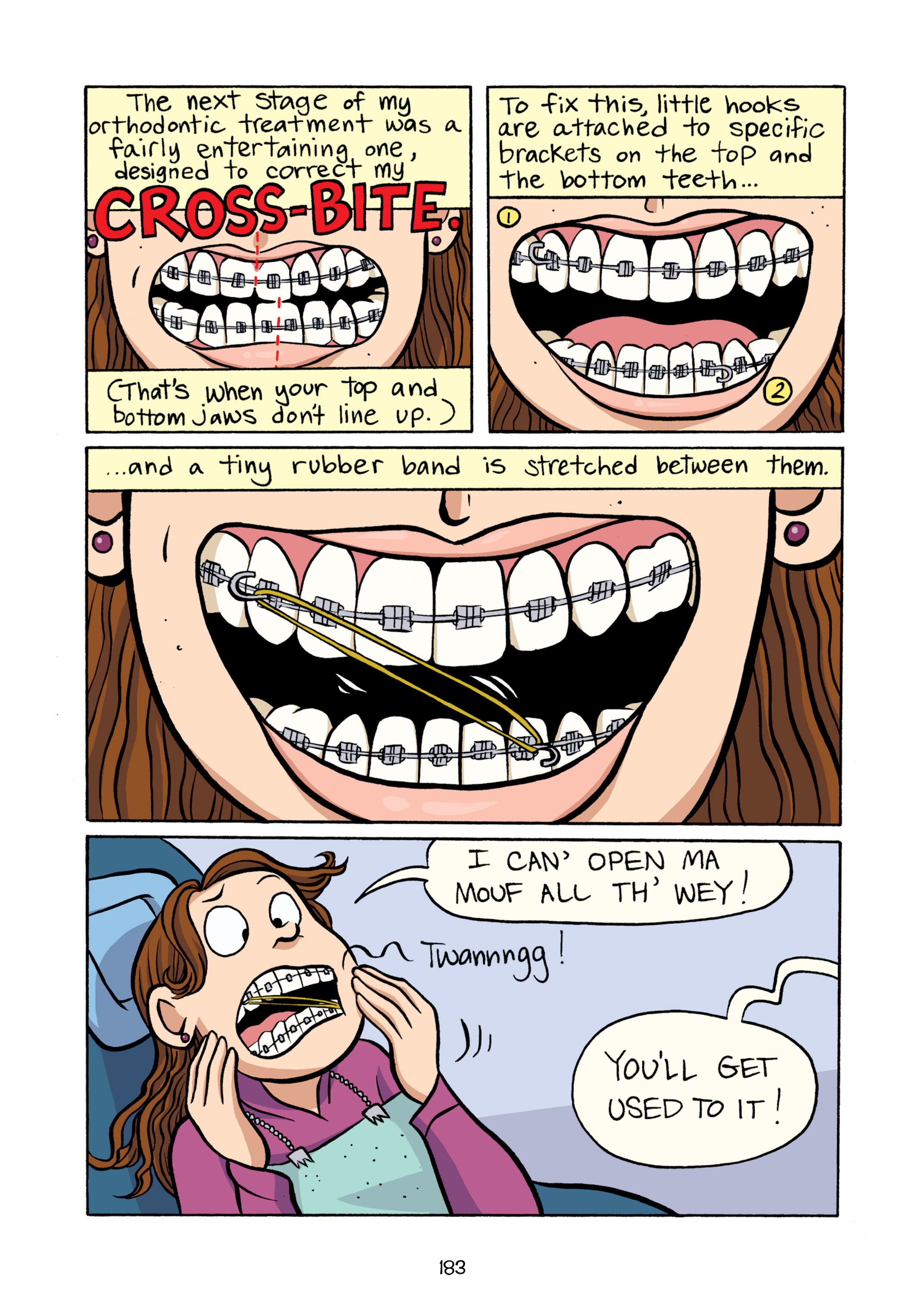 Read online Smile comic -  Issue # TPB - 189