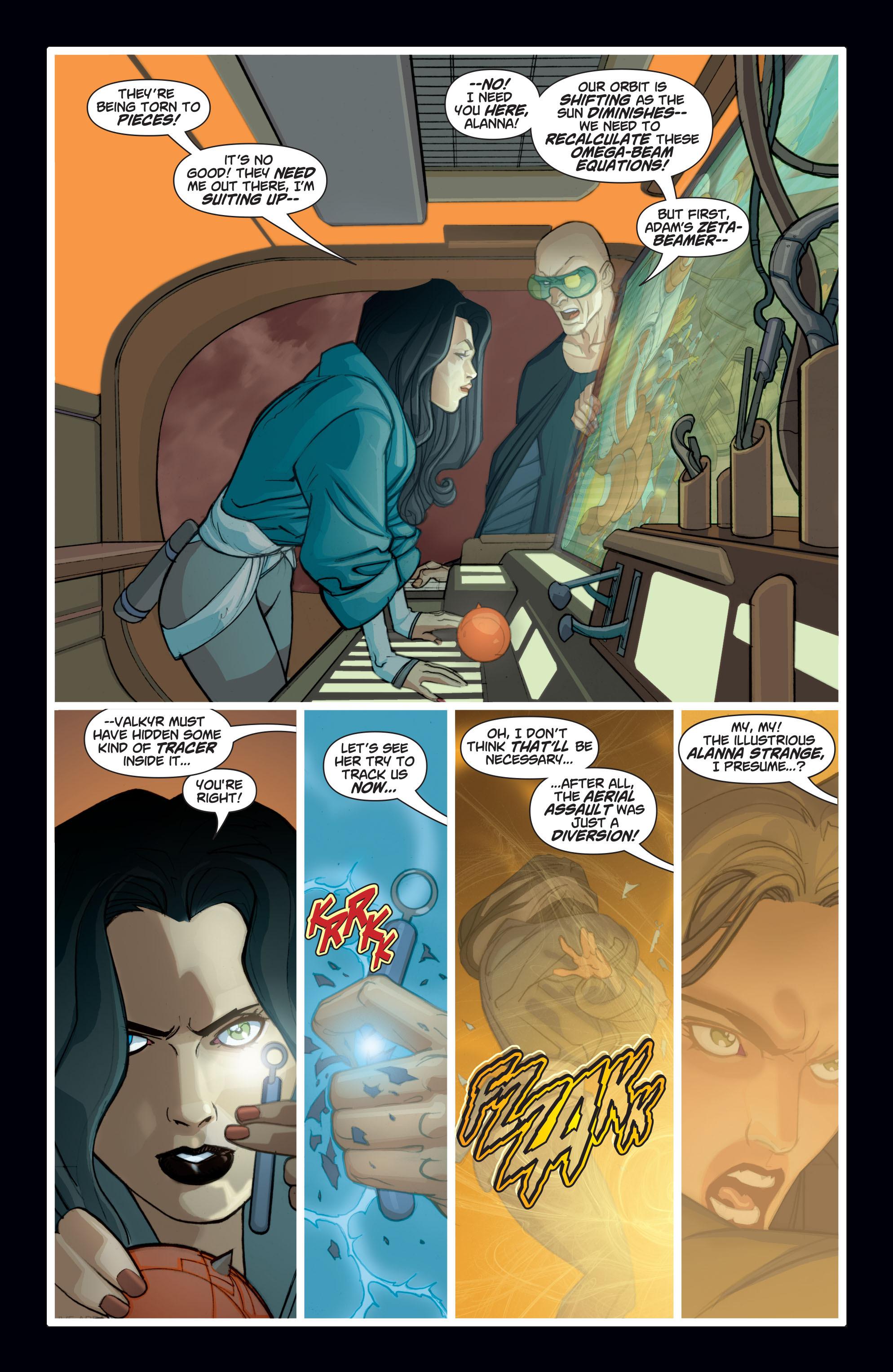 Read online Adam Strange (2004) comic -  Issue #7 - 21