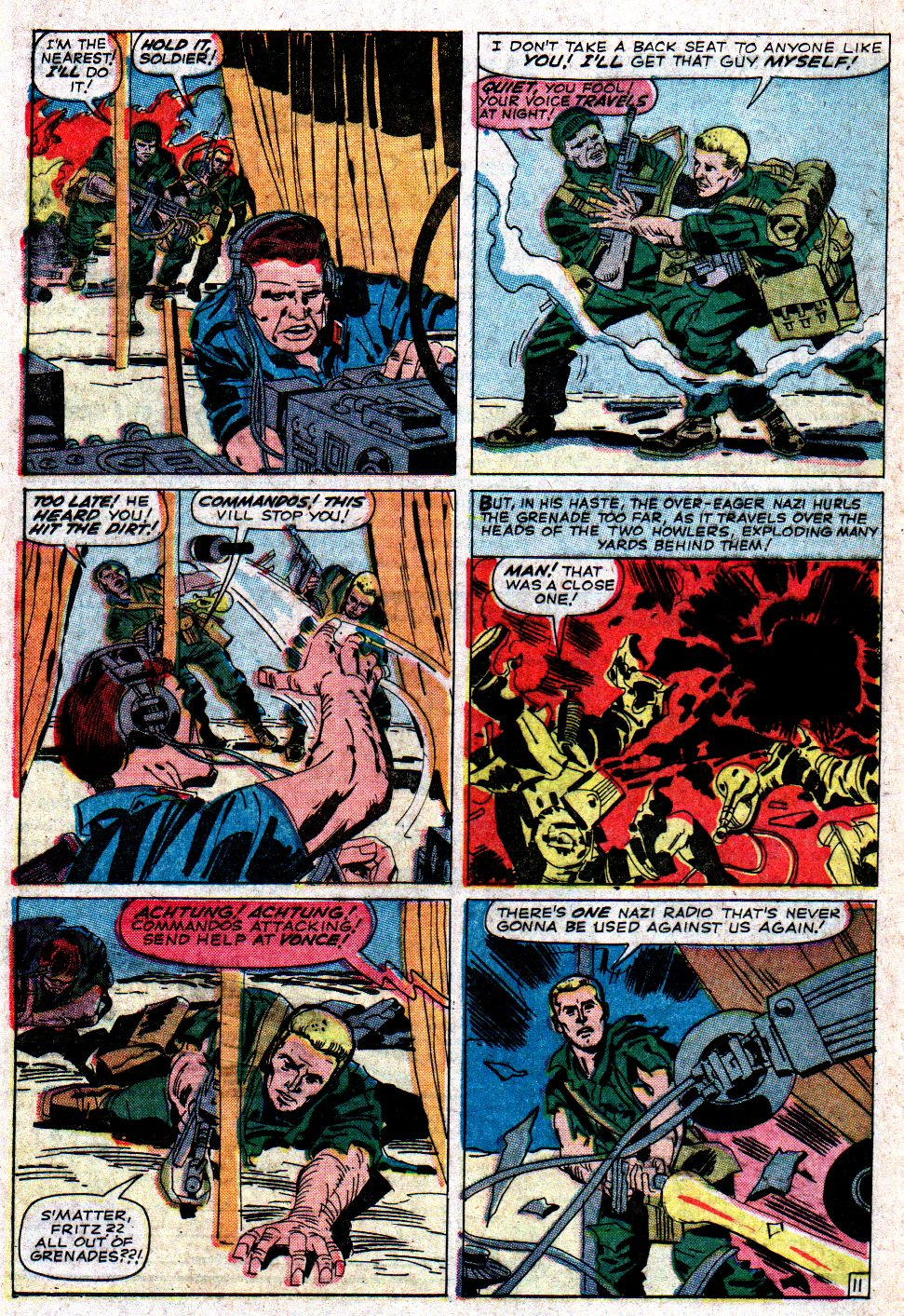 Read online Sgt. Fury comic -  Issue #6 - 16