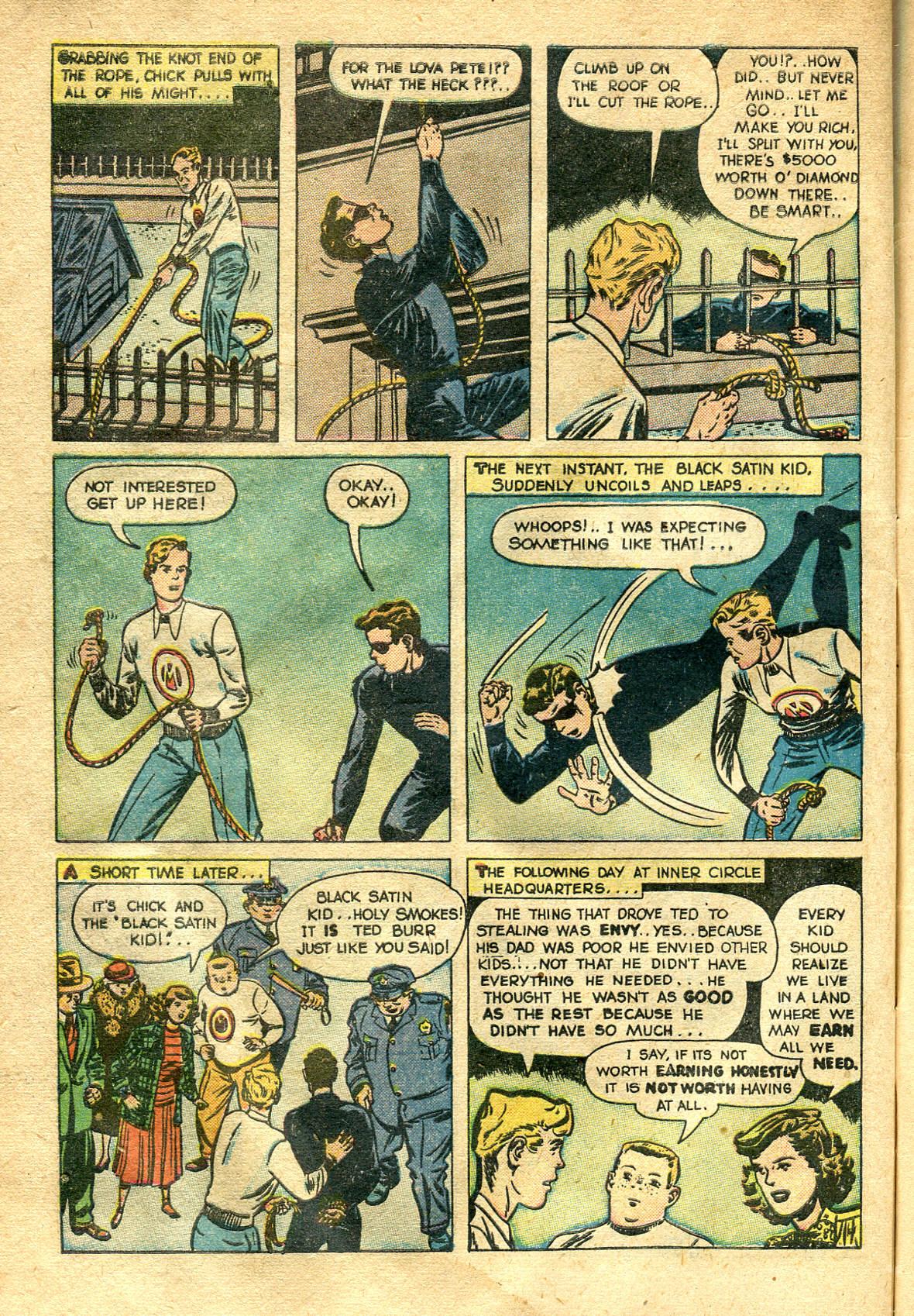 Read online Shadow Comics comic -  Issue #99 - 48