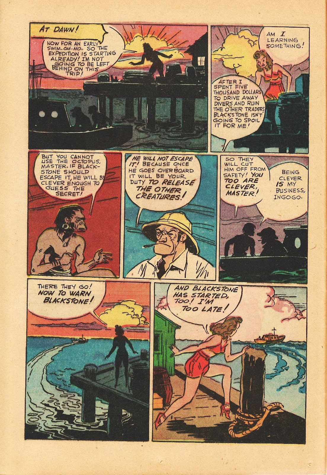 Super-Magician Comics issue 22 - Page 22