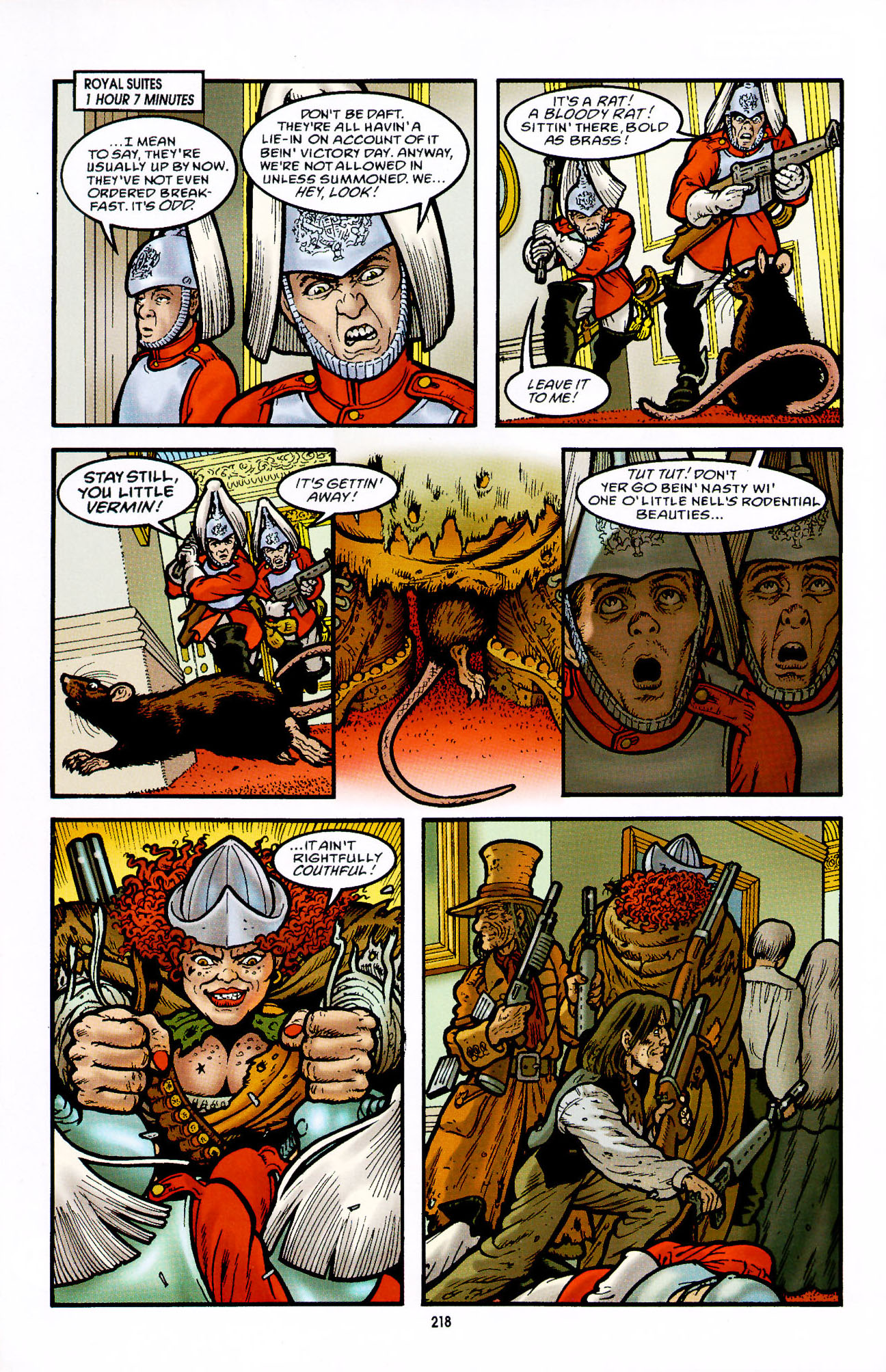Read online Heart of Empire comic -  Issue #7 - 24