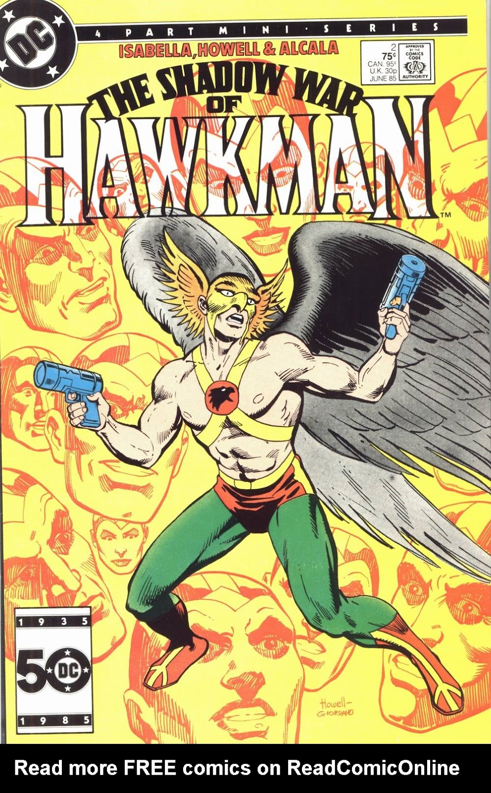 The Shadow War of Hawkman 2 Page 1