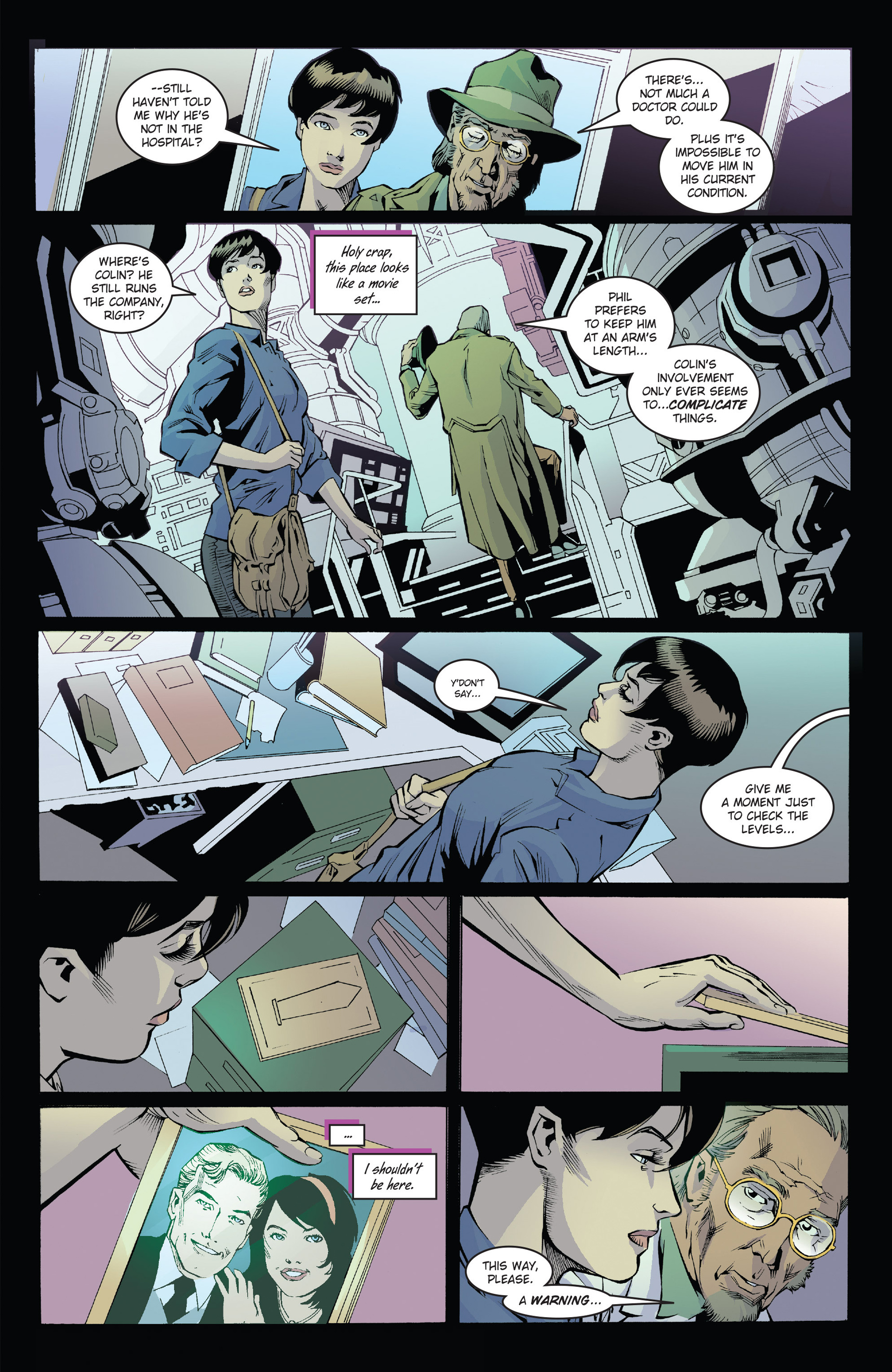 Read online Solar: Man of the Atom (2014) comic -  Issue #1 - 19