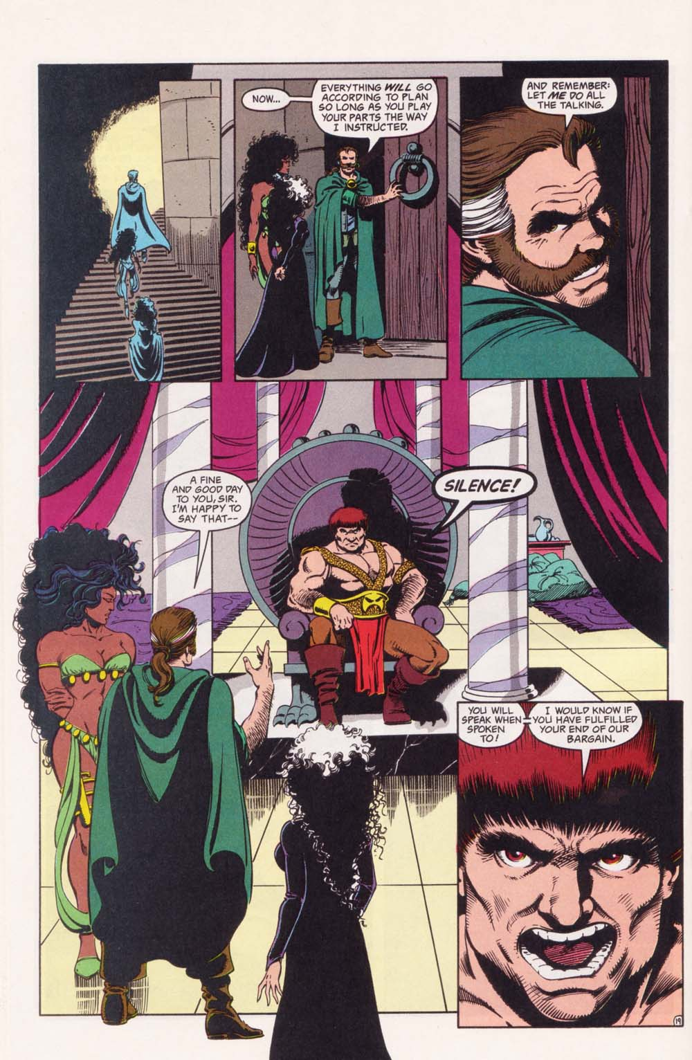 Read online Advanced Dungeons & Dragons comic -  Issue #34 - 19