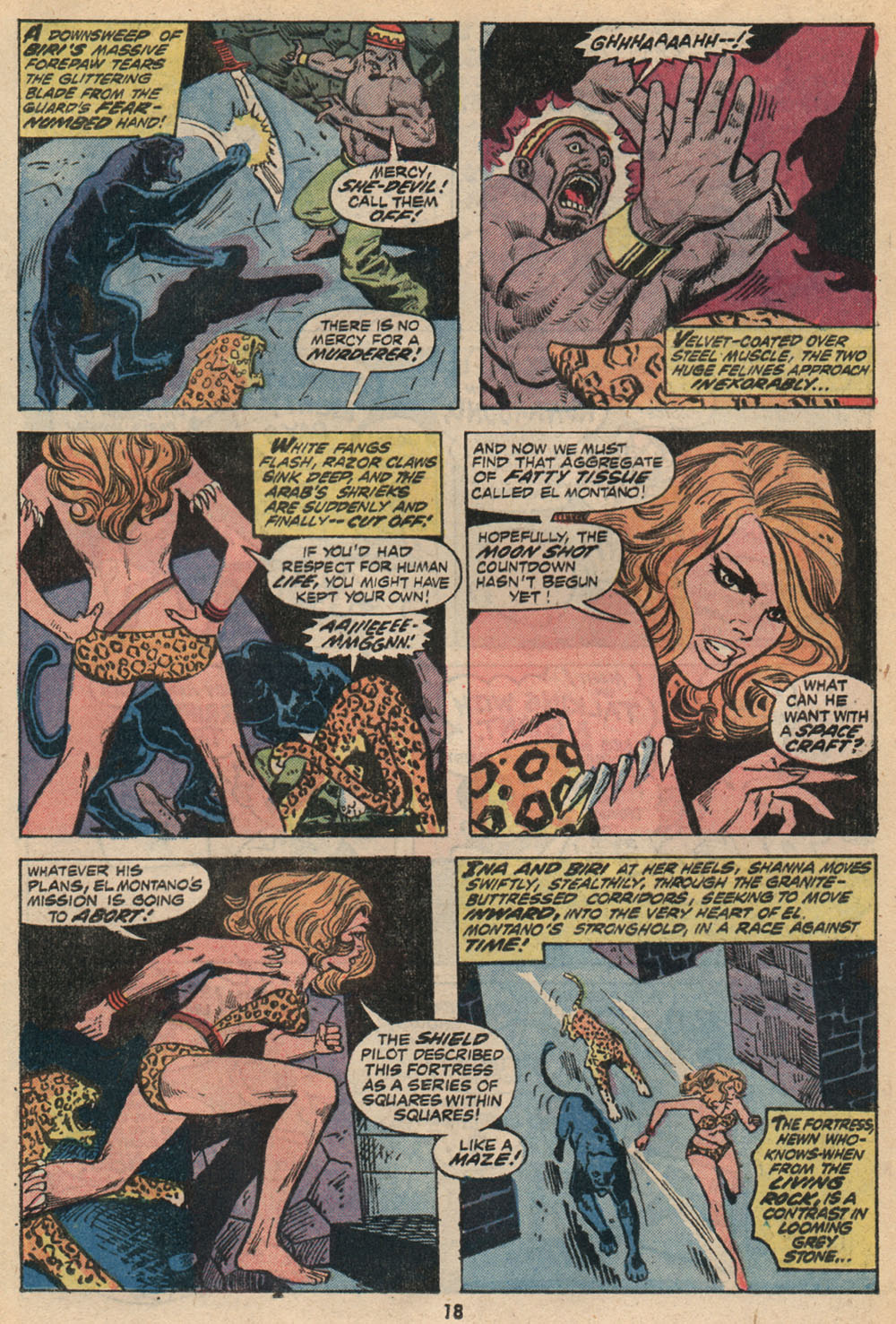 Read online Shanna, the She-Devil (1972) comic -  Issue #2 - 13