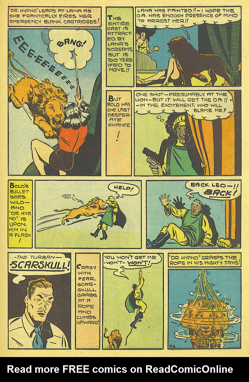 Read online Amazing Man Comics comic -  Issue #19 - 29