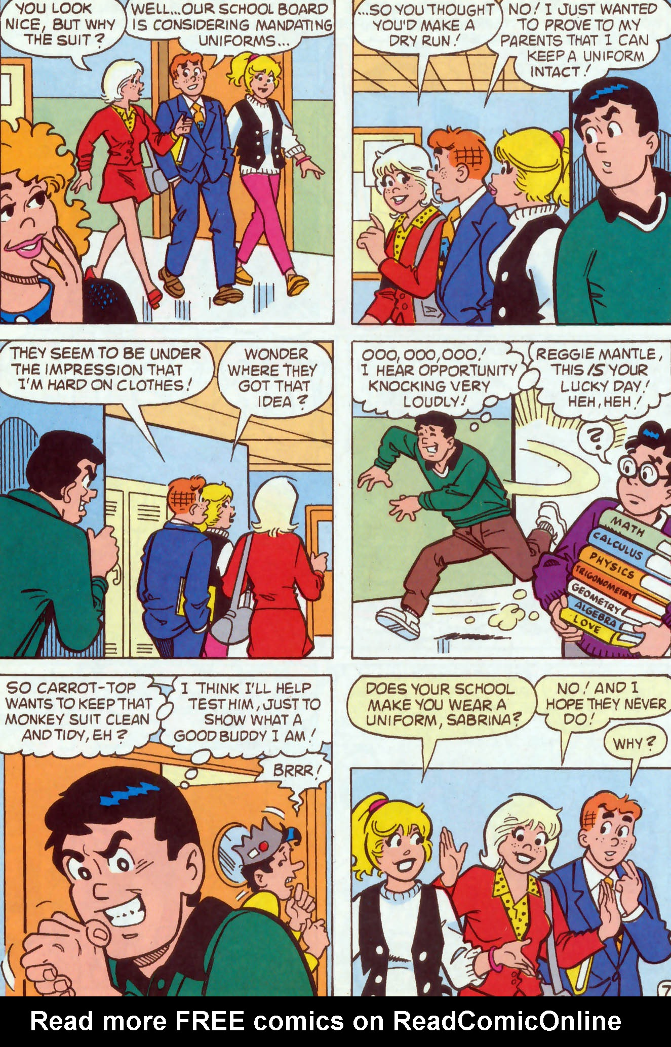 Read online Archie (1960) comic -  Issue #467 - 8