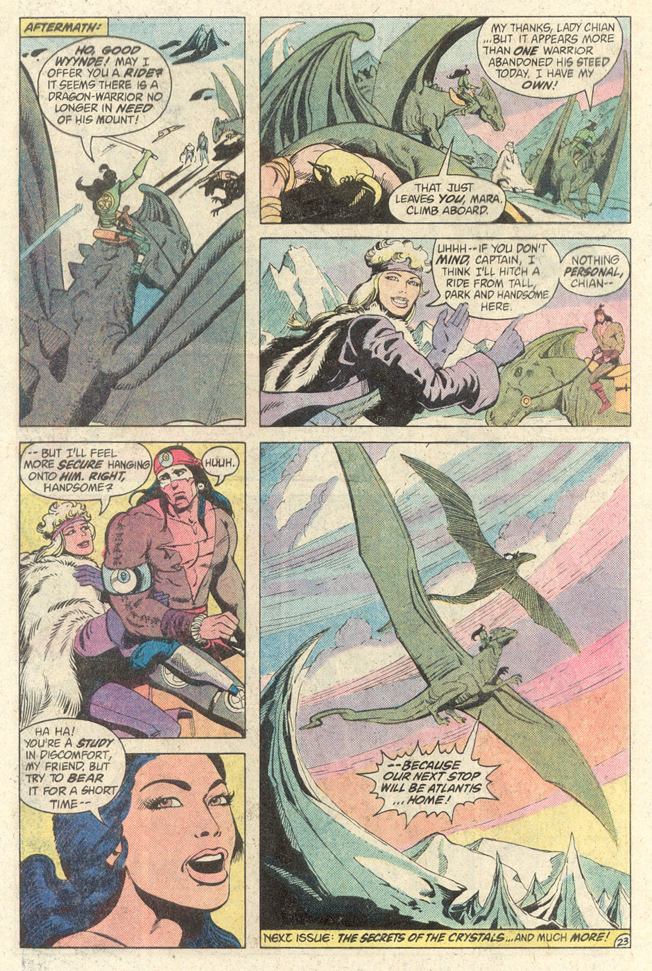 Read online Arion, Lord of Atlantis comic -  Issue #2 - 23