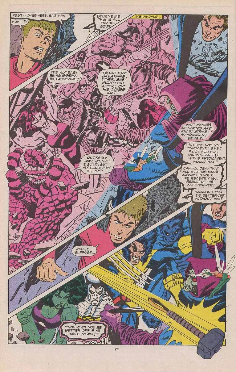 Read online Sleepwalker comic -  Issue #3 - 19